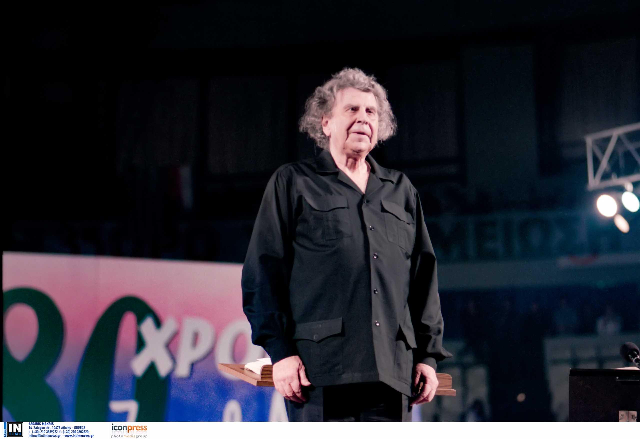 Μίκης Θεοδωράκης – Εθνικό Θέατρο: Θα ζει για πάντα μέσα στις ψυχές και στις καρδιές όλων μας