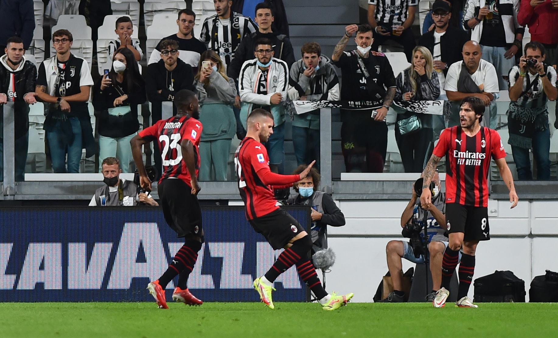 Γιουβέντους – Μίλαν 1-1: Αήττητοι και στην κορυφή οι «ροσονέροι»