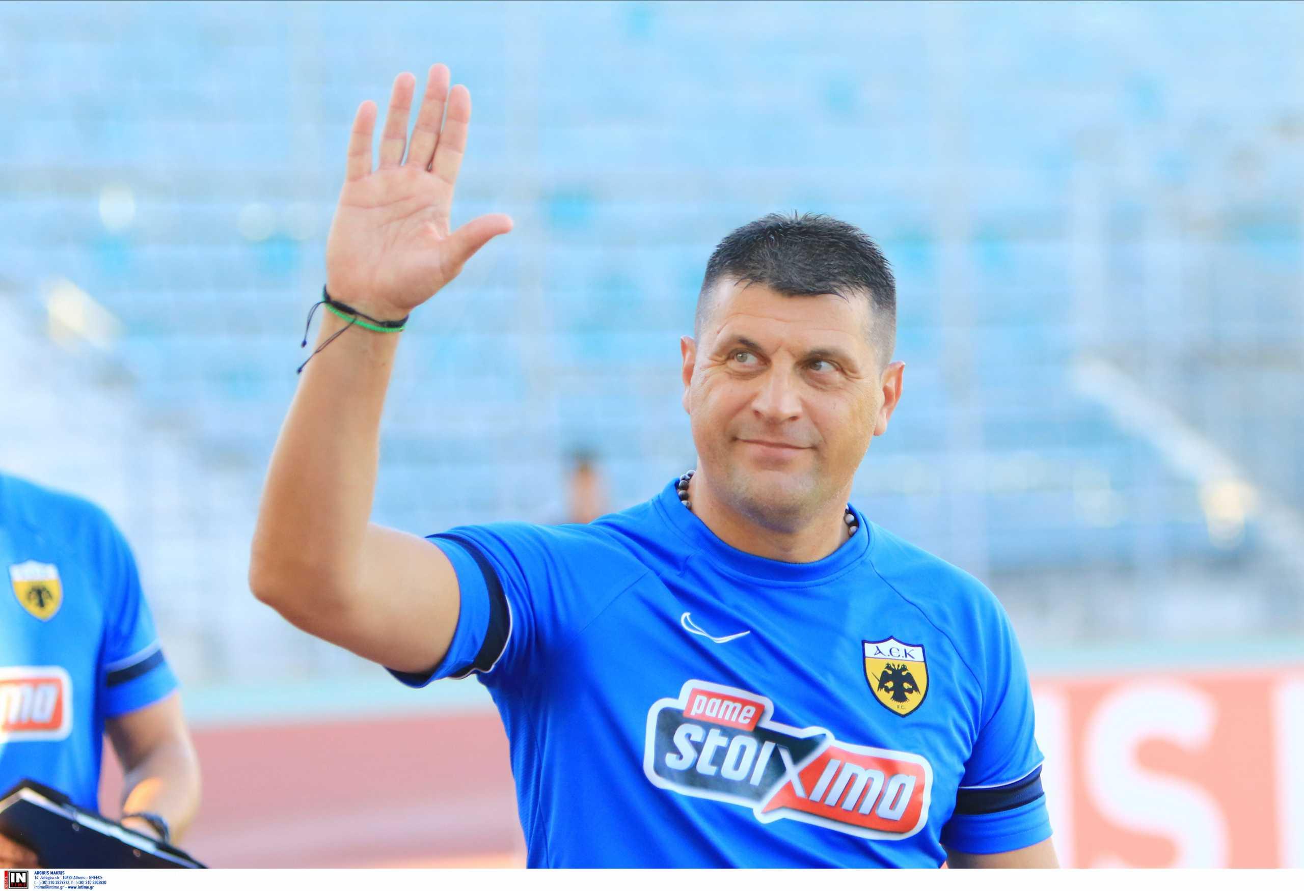 ΑΕΚ – Ικανοποιημένος ο Μιλόγεβιτς: «Πλέον είμαστε υπερπλήρεις»
