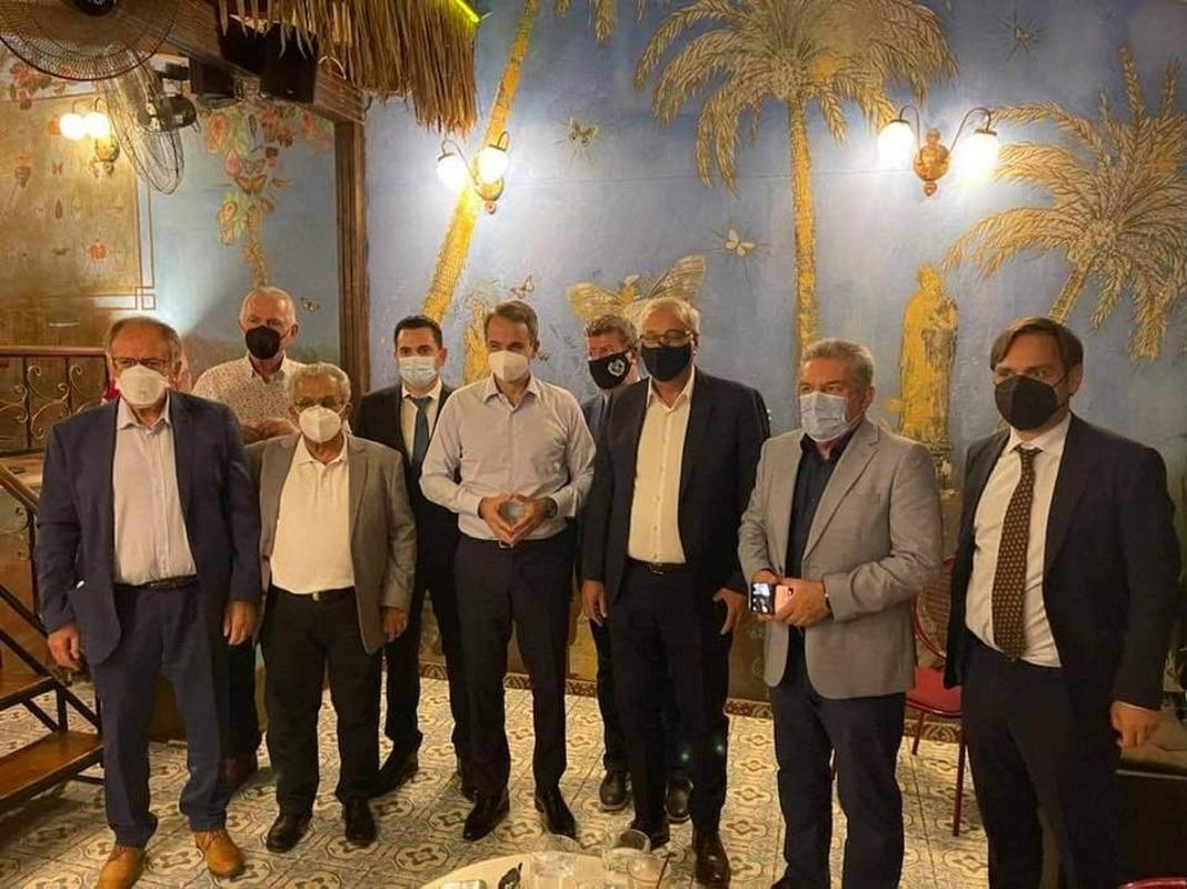 Κυριάκος Μητσοτάκης: Συνάντηση με τους δημάρχους της Δυτικής Αθήνας – Τι συζήτησαν