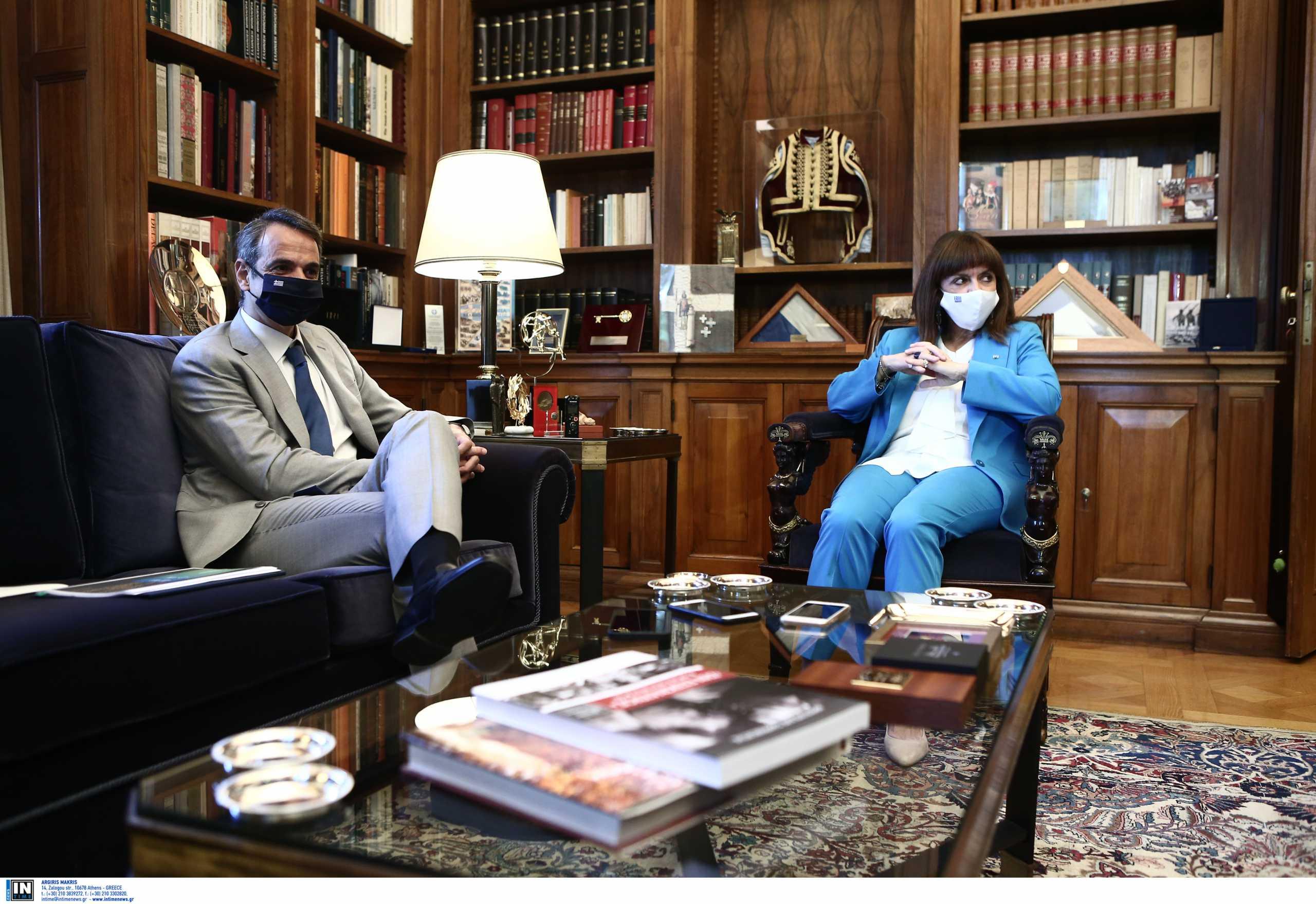 Κατερίνα Σακελλαροπούλου: Συνάντηση με τον πρωθυπουργό Κυριάκο Μητσοτάκη το πρωί της Τετάρτης (29.09)