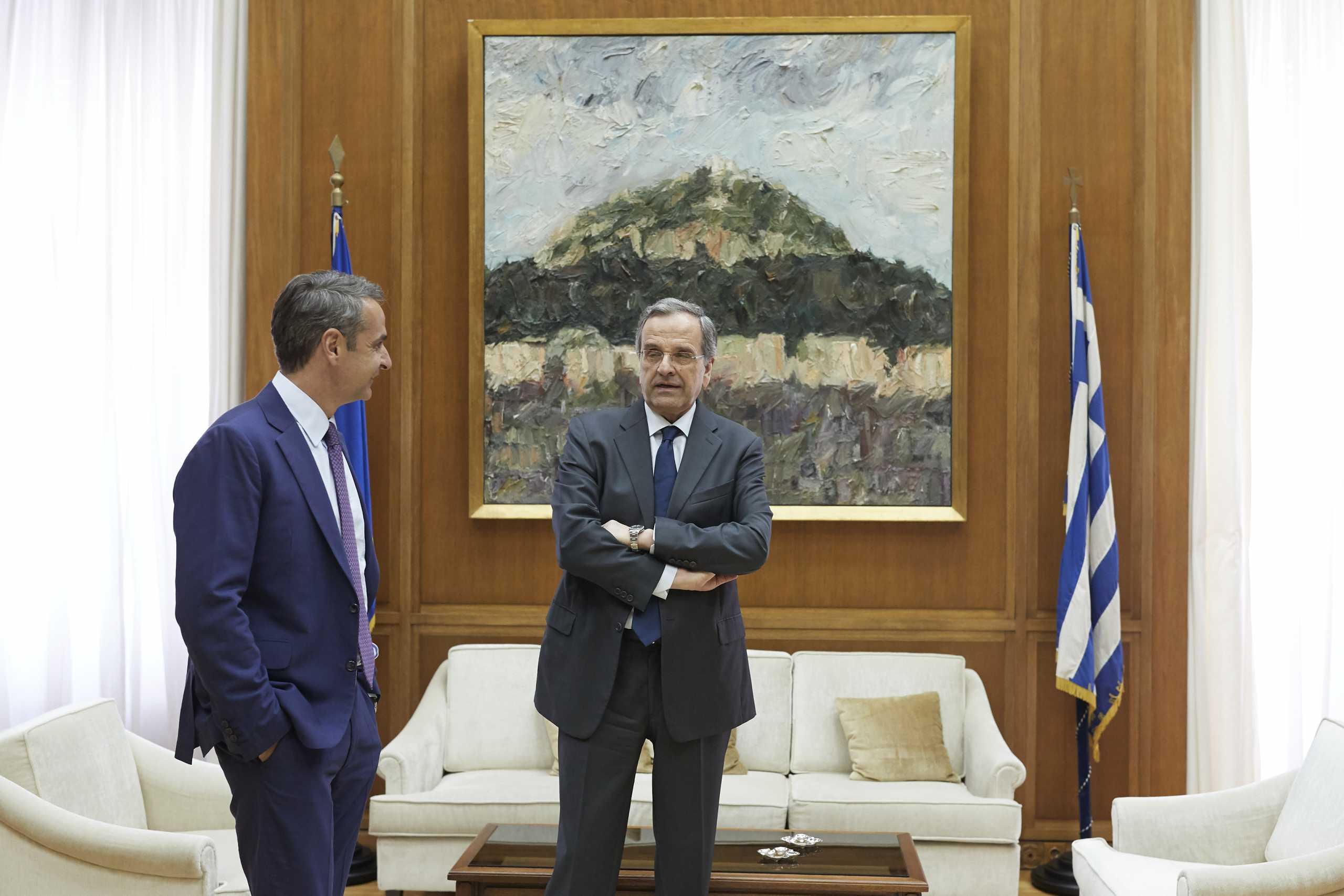 Αντώνης Σαμαράς: Ο Κυριάκος Μητσοτάκης θα έπρεπε να ασκήσει βέτο για την Αμμόχωστο