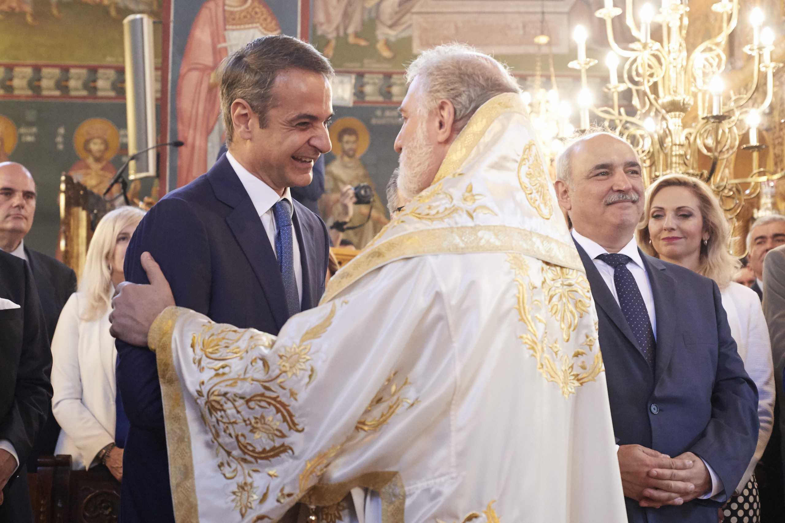 Χωρίς τον Αρχιεπίσκοπο Αμερικής Ελπιδοφόρο η δεξίωση της ομογένειας στον πρωθυπουργό