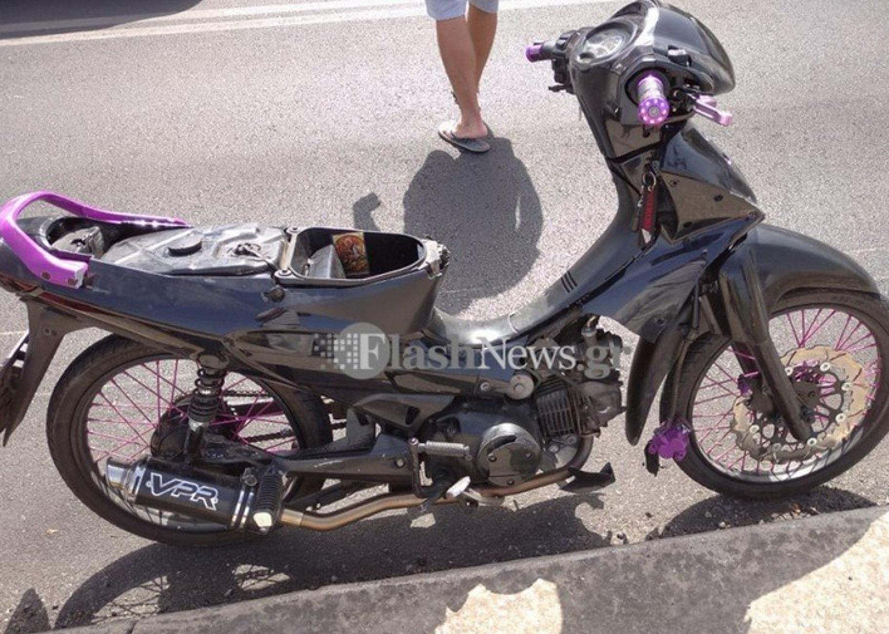 Χανιά: Ντελιβεράς χτύπησε στο κεφάλι σε τροχαίο – Το μηχανάκι του συγκρούστηκε με μοτοσικλέτα