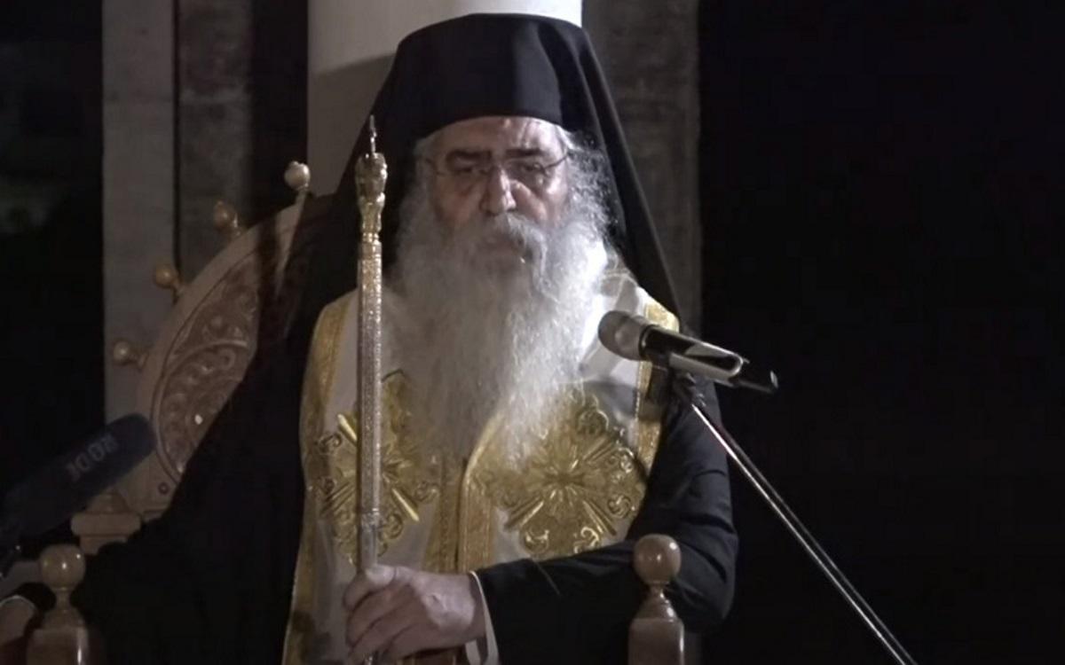 Μητροπολίτης Μόρφου: Παρακάλεσα την Παναγία να μου δώσει κορονοϊούλη