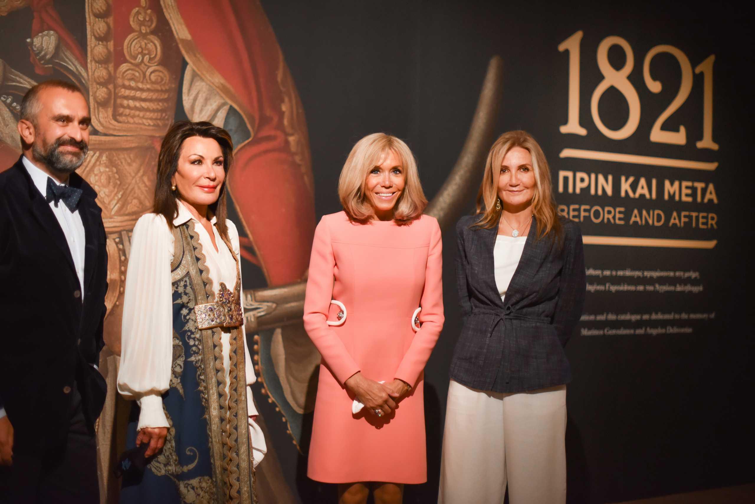 EUMED 9 – Μπριζίτ Μακρόν: Στο μουσείο Μπενάκη μαζί με την Μαρέβα Μητσοτάκη