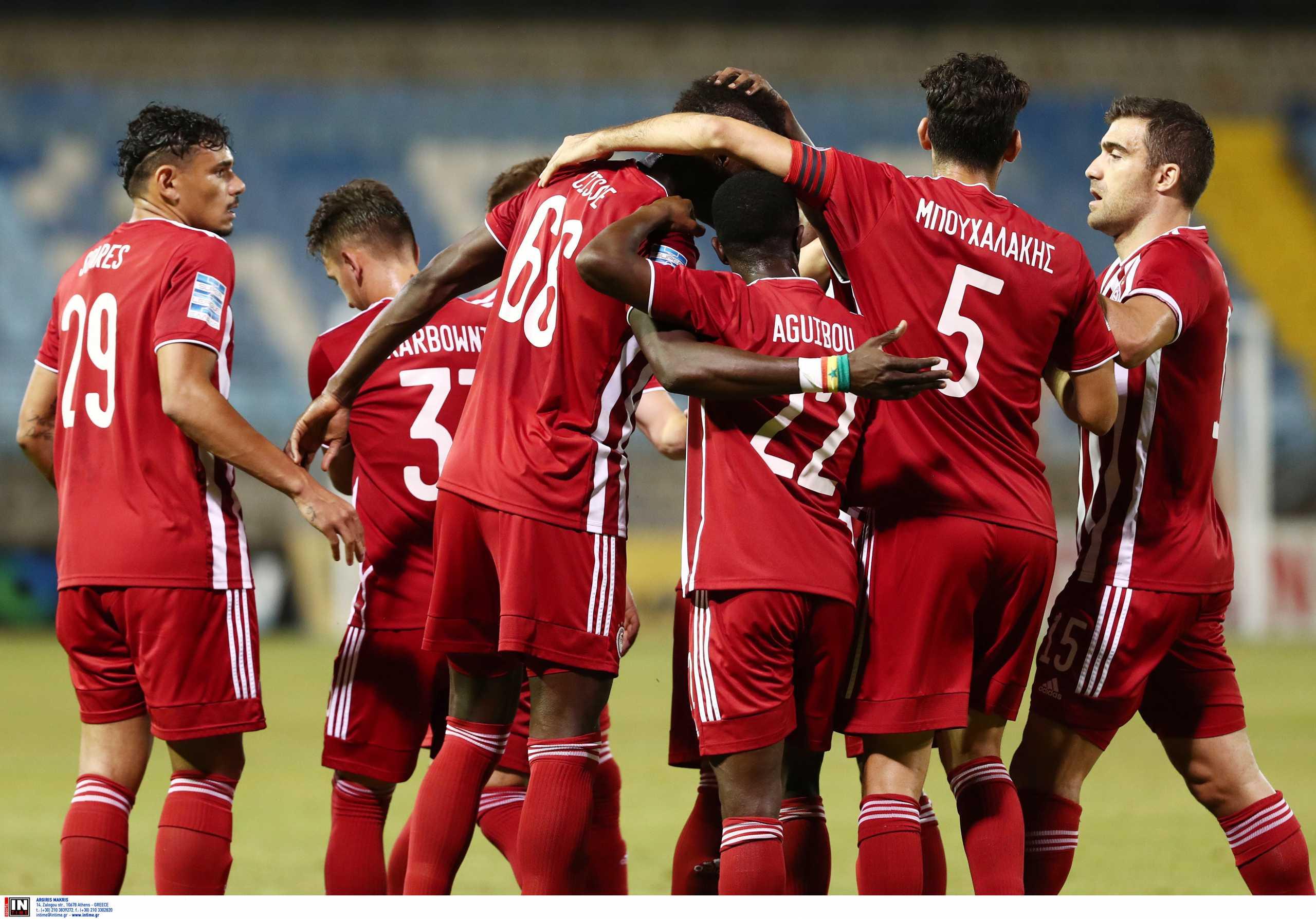 Superleague 1, Λαμία – Ολυμπιακός 1-2: «Απέδρασαν» δύσκολα με το διπλό οι Πειραιώτες
