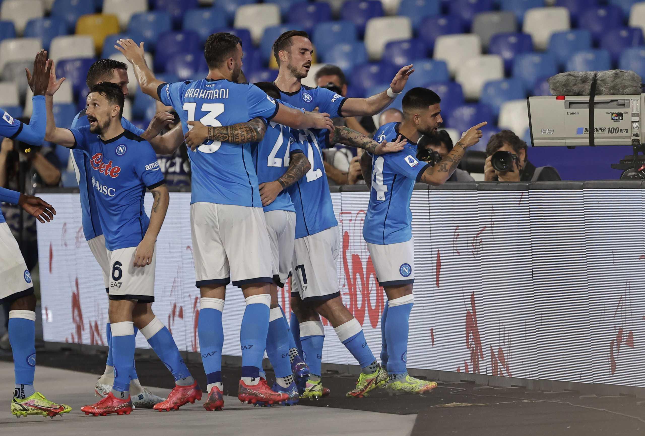Serie A, Νάπολι – Κάλιαρι 2-0: «Έξι στα έξι» και φουλ για πρωτάθλημα οι «παρτενοπέι»