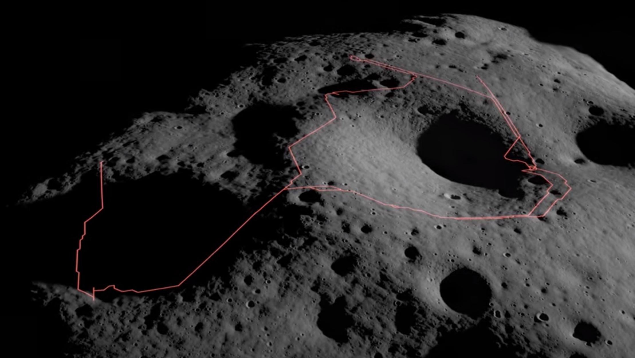 Η NASA διάλεξε το μέρος της Σελήνης που θα στείλει το ρόβερ «Άρτεμις» να ψάξει νερό