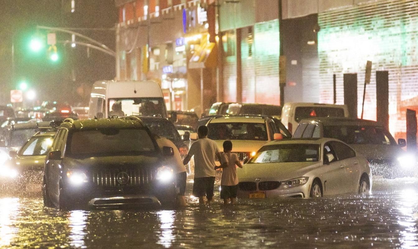 ΗΠΑ: 9 νεκροί από τις φονικές πλημμύρες σε Νέα Υόρκη και Νιου Τζέρσεϊ