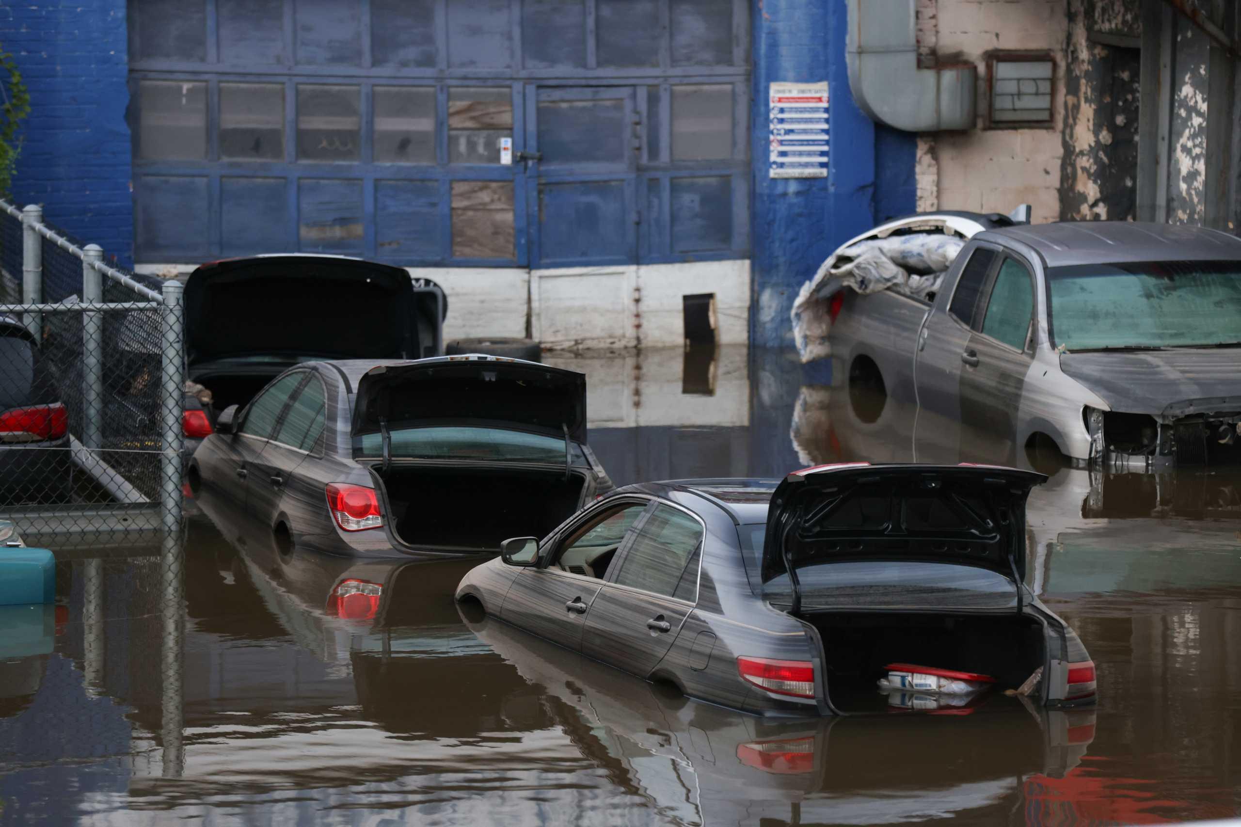 Σαρωτικό πέρασμα της καταιγίδας Άιντα στη Νέα Υόρκη – Μαρτυρία Ελληνίδας: Όλα έγιναν σε 40 λεπτά
