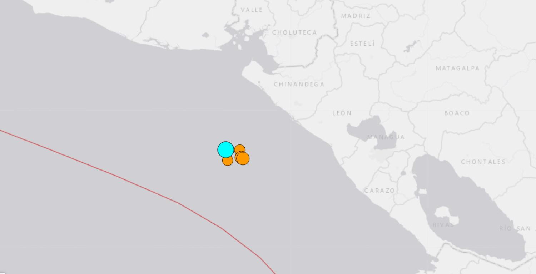 Σεισμός 6,5 βαθμών Ρίχτερ στα ανοιχτά της Νικαράγουας