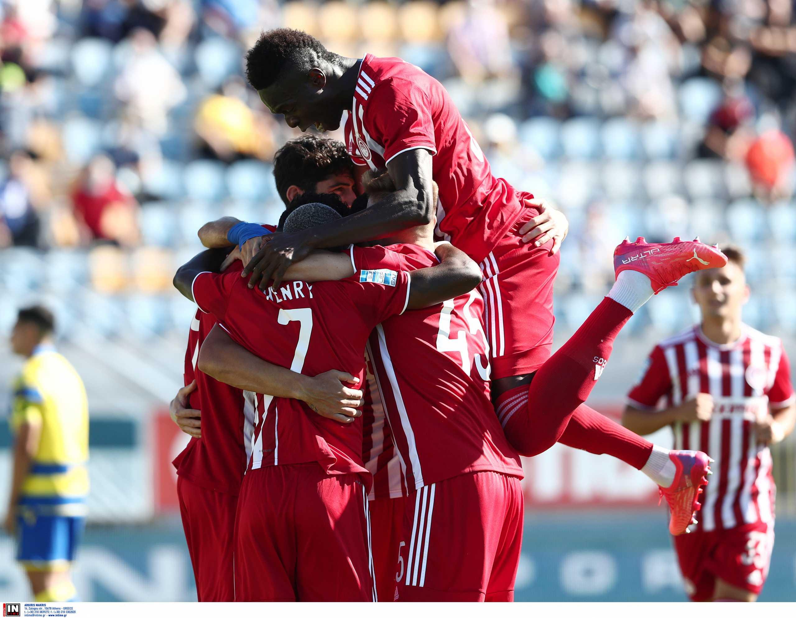 Superleague 1, Αστέρας Τρίπολης – Ολυμπιακός 0-2: Επαγγελματική νίκη πριν τη μάχη με τη Φενέρμπαχτσε