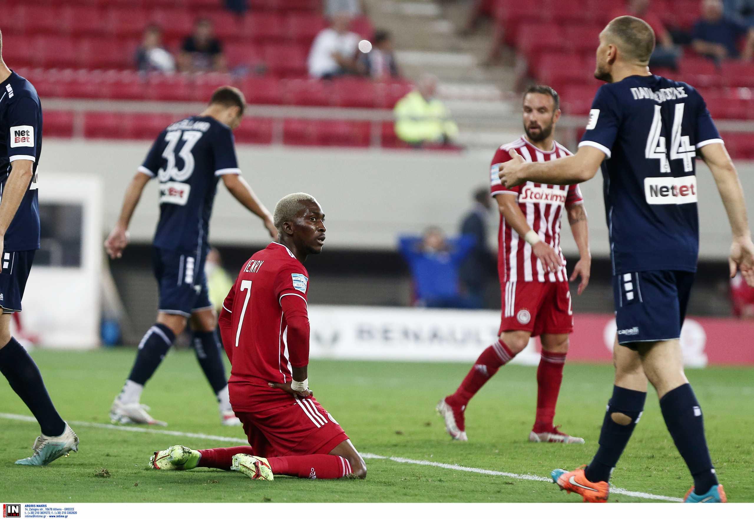 Ολυμπιακός – Ατρόμητος 0-0: «Άσφαιροι» στην πρεμιέρα οι Πειραιώτες