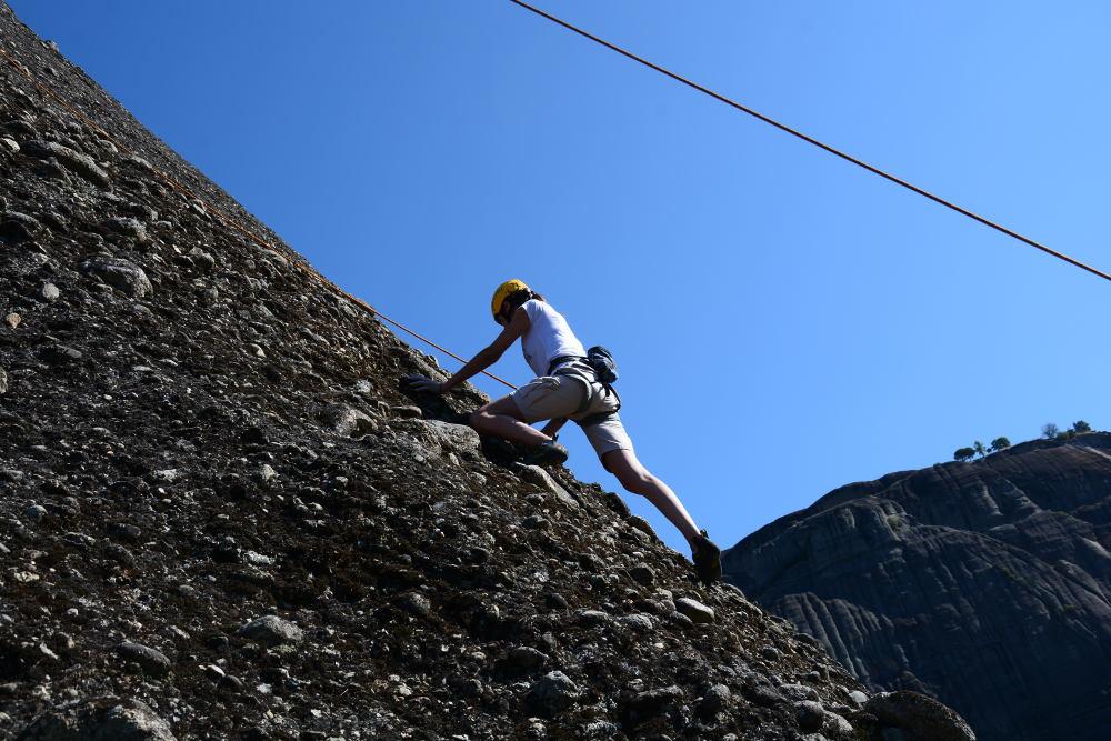Όλυμπος: Σοβαρός τραυματισμός ορειβάτη μετά από πτώση