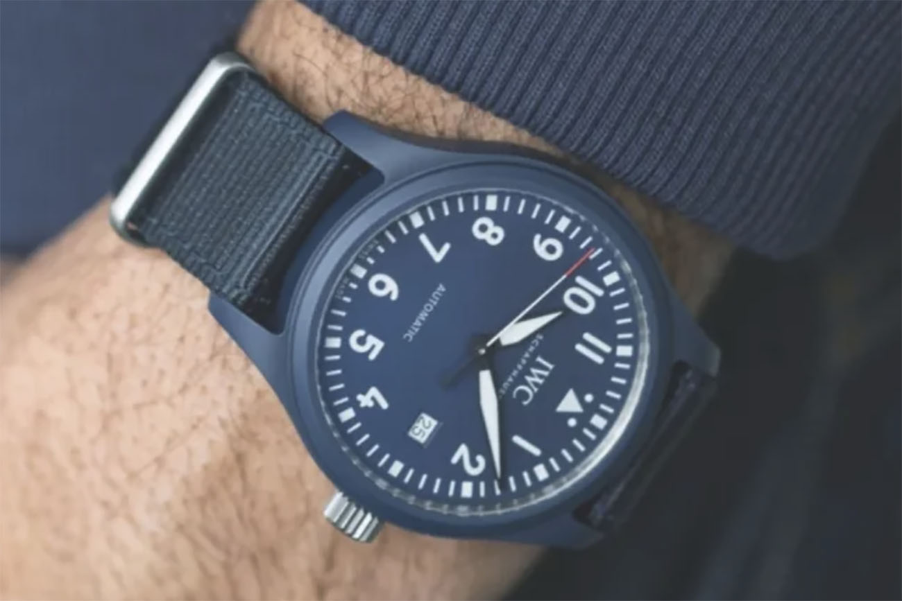 Ένα πανέμορφο ρολόι από την IWC για καλό σκοπό