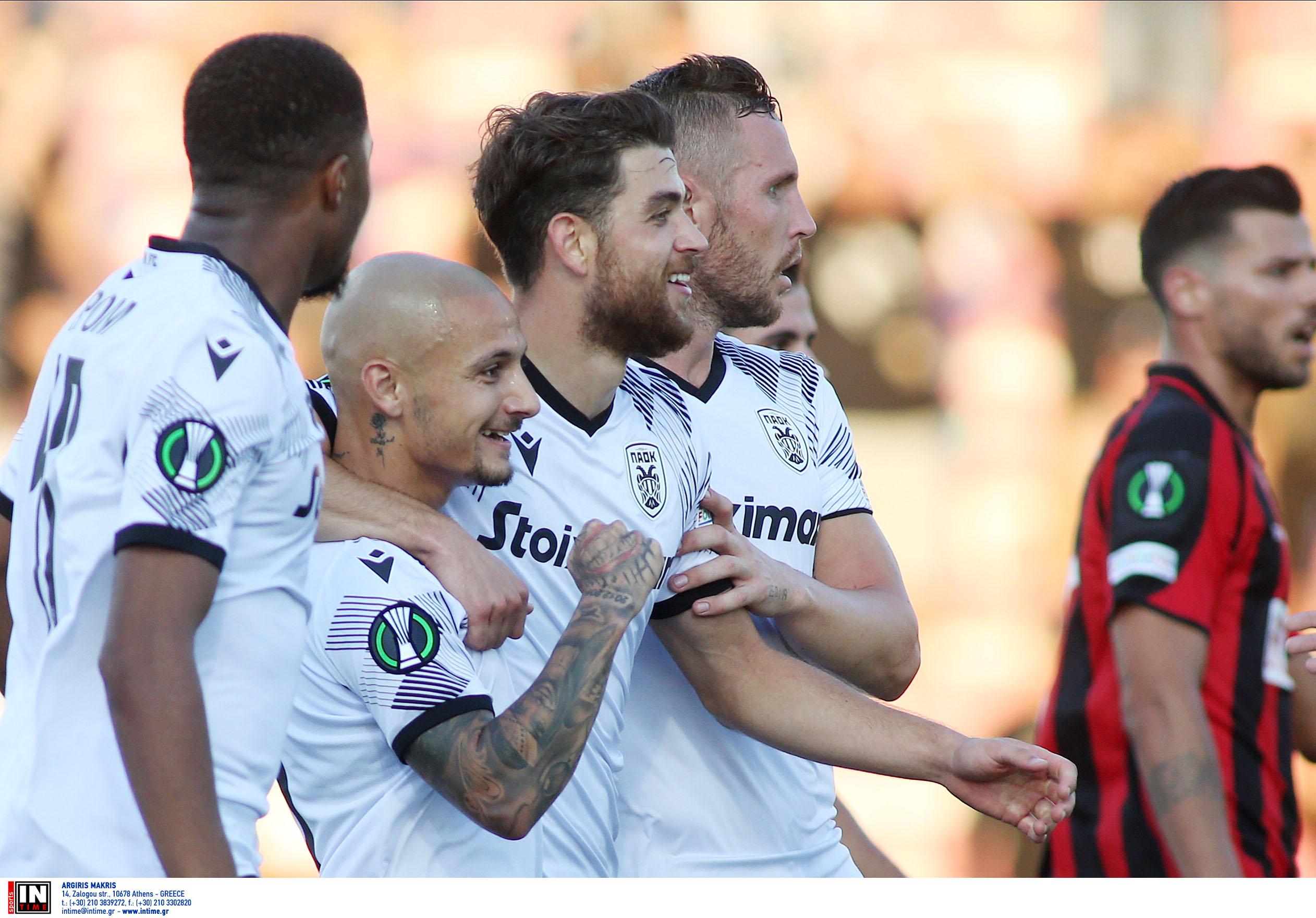 Conference League, Λίνκολν – ΠΑΟΚ 0-2: Νικηφόρα πρεμιέρα στο Γιβραλτάρ