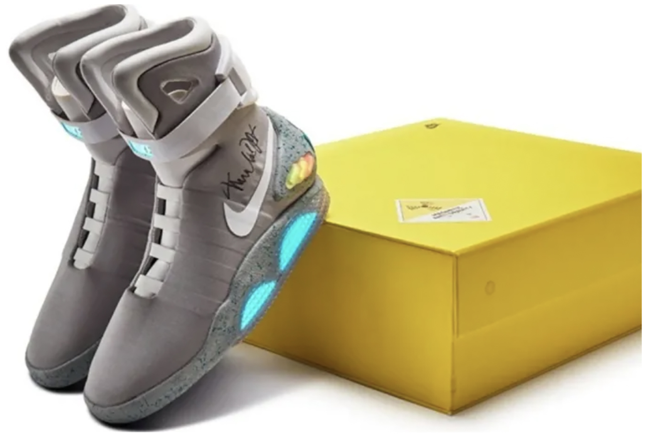 """Στο """"σφυρί"""" τα sneakers της Nike που σε… ταξιδεύουν στο μέλλον"""