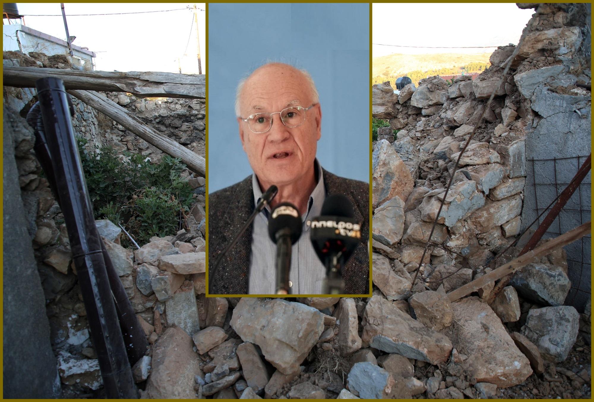 Σεισμός – Γεράσιμος Παπαδόπουλος: «Μετά την Κρήτη αλλάζει το τοπίο στη χώρα – Μας προβληματίζει η Θήβα»