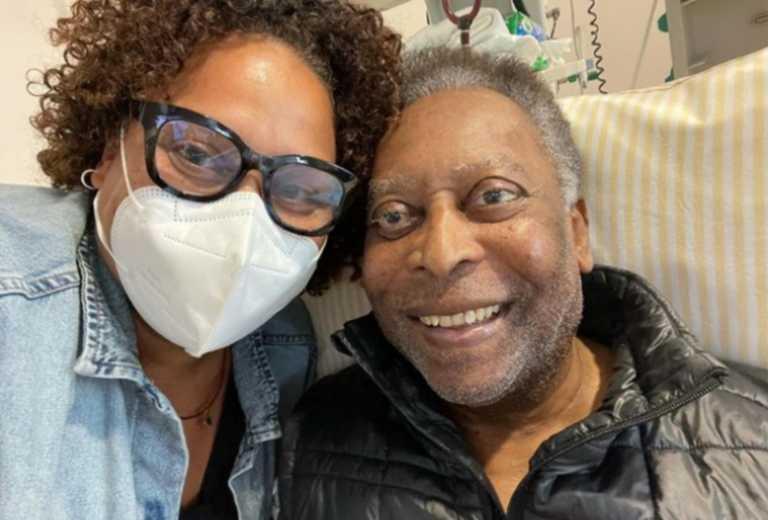Πελέ: Η νέα ανάρτηση της κόρης του από το νοσοκομείο