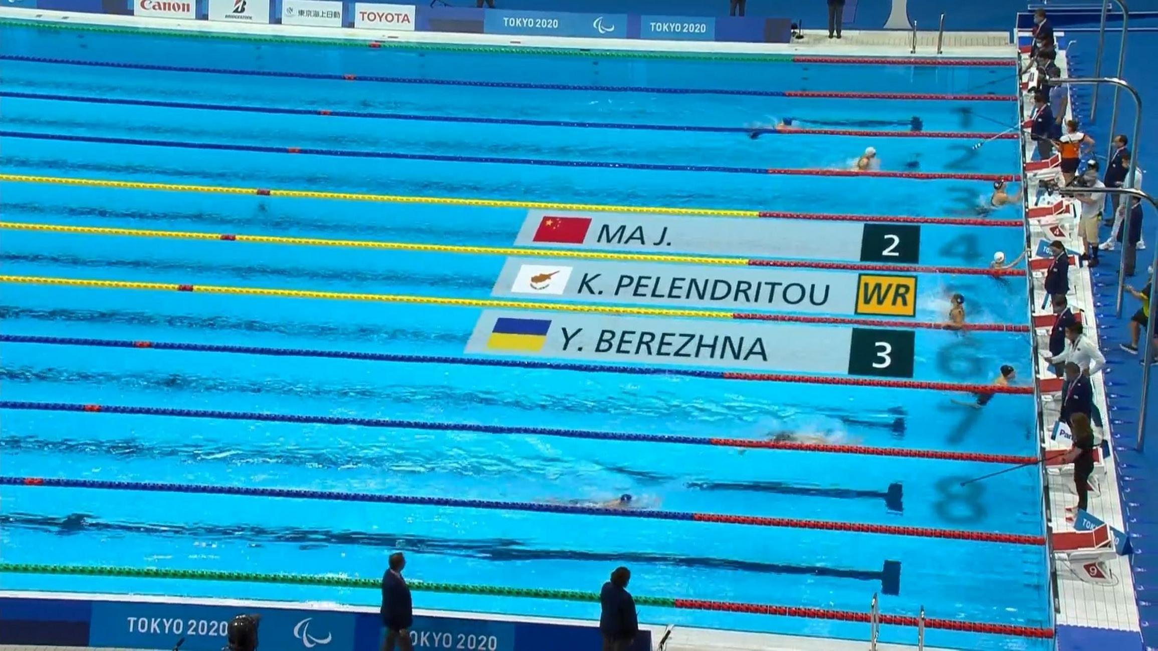 Χρυσό μετάλλιο με παγκόσμιο ρεκόρ από την Πελενδρίτου στους Παραολυμπιακούς Αγώνες