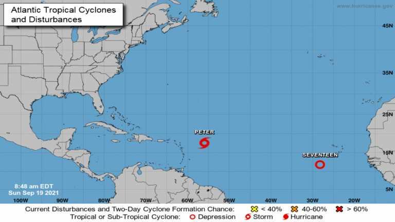 ΗΠΑ: Νέα τροπική καταιγίδα στον Ατλαντικό Ωκεανό – Σε συναγερμό το Πουέρτο Ρίκο