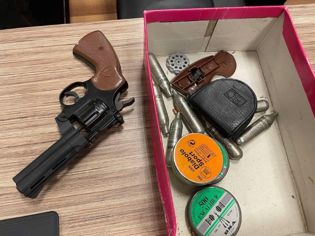 Πυροβολισμοί στη λεωφόρο Αλεξάνδρας: Έβγαλε όπλο πριν τη σύλληψη του