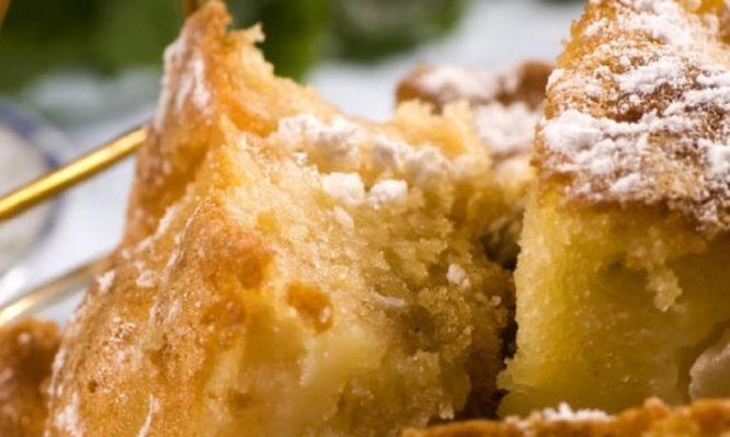 Πανεύκολο κέικ μήλου μόνο με μπλέντερ