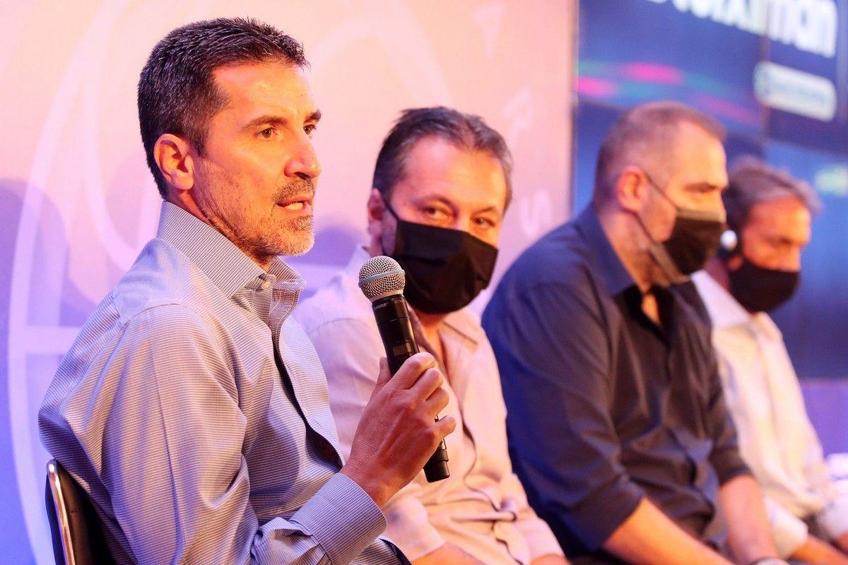 Super Cup μπάσκετ: Προπονητές και παίκτες συμφώνησαν στη συνέντευξη Τύπου