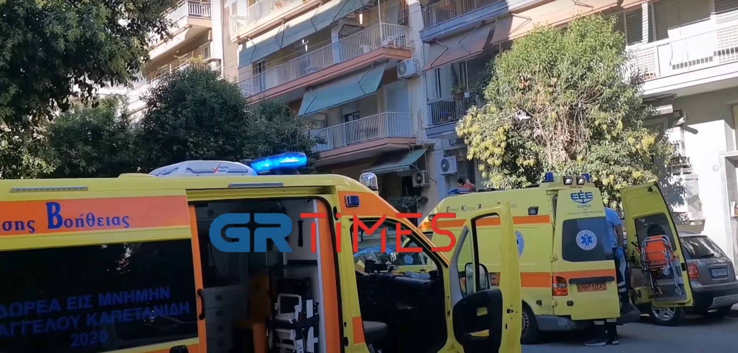 Θεσσαλονίκη: Νεκρός ο άνδρας που έπεσε από τον 2ο όροφο