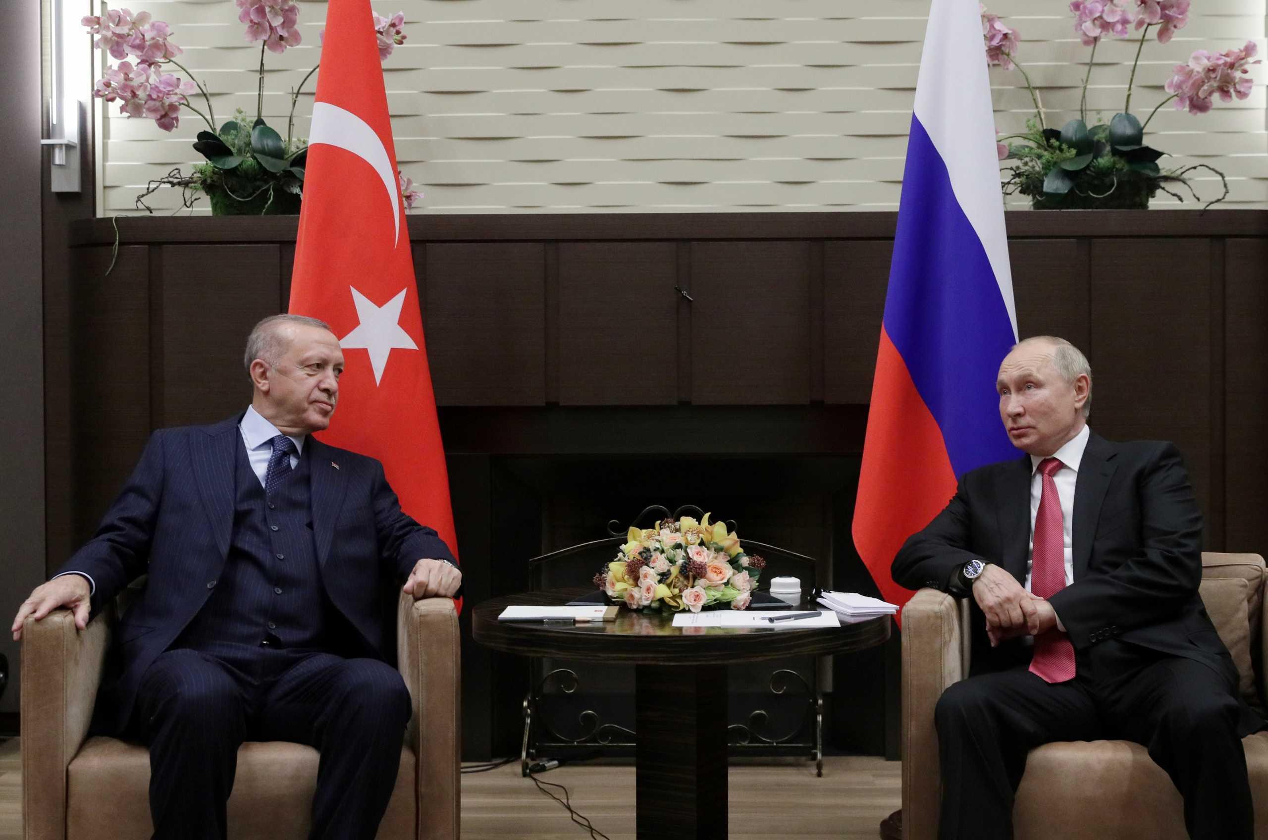 Βλαντίμιρ Πούτιν – Ταγίπ Ερντογάν: Επιμένει ο πρόεδρος της Τουρκίας για τους S-400