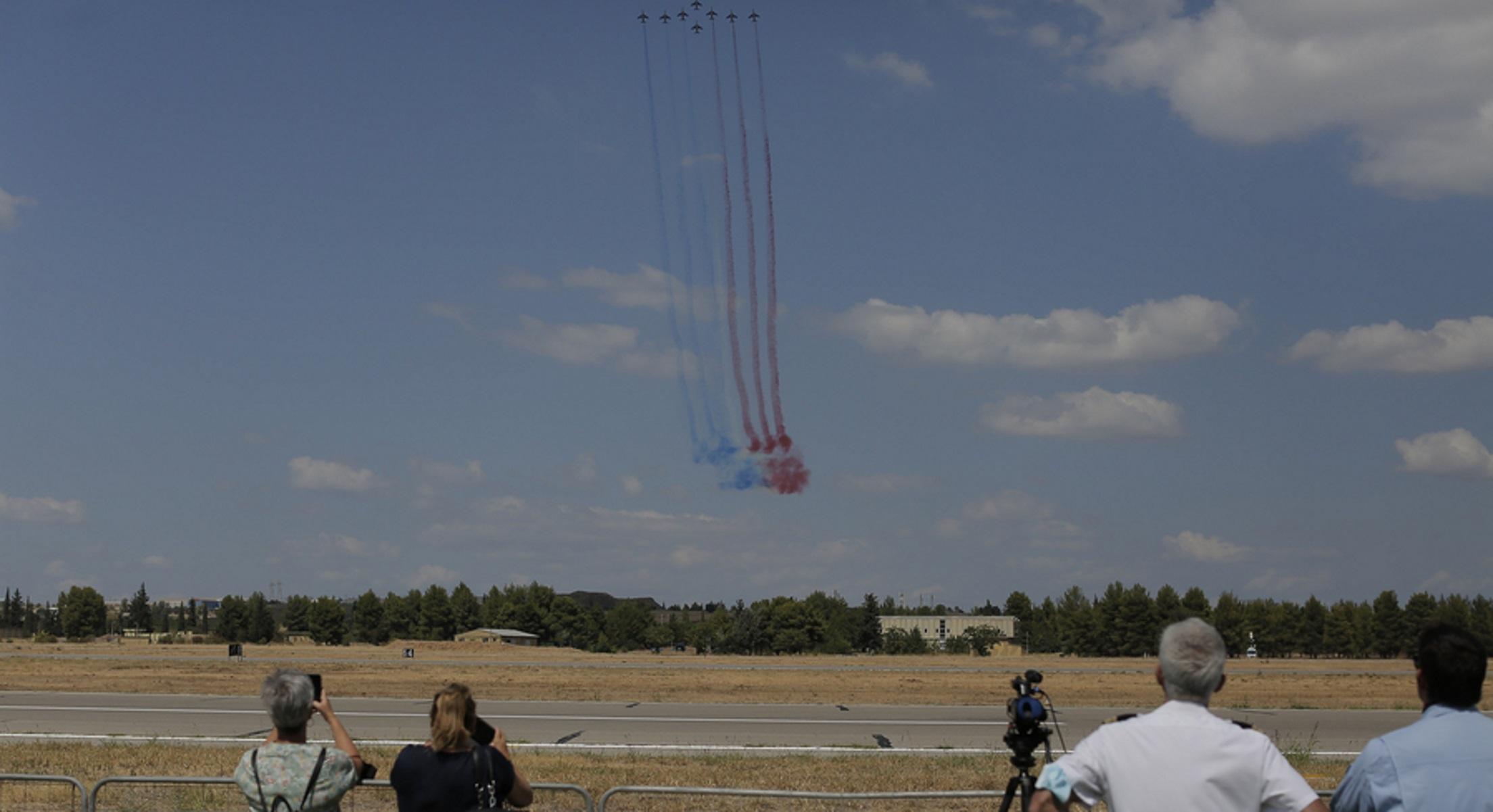 Rafale: Οι Γάλλοι «έδωσαν μια πρώτη γεύση» ενόψει Athens Flying Week – Δείτε πλάνα!