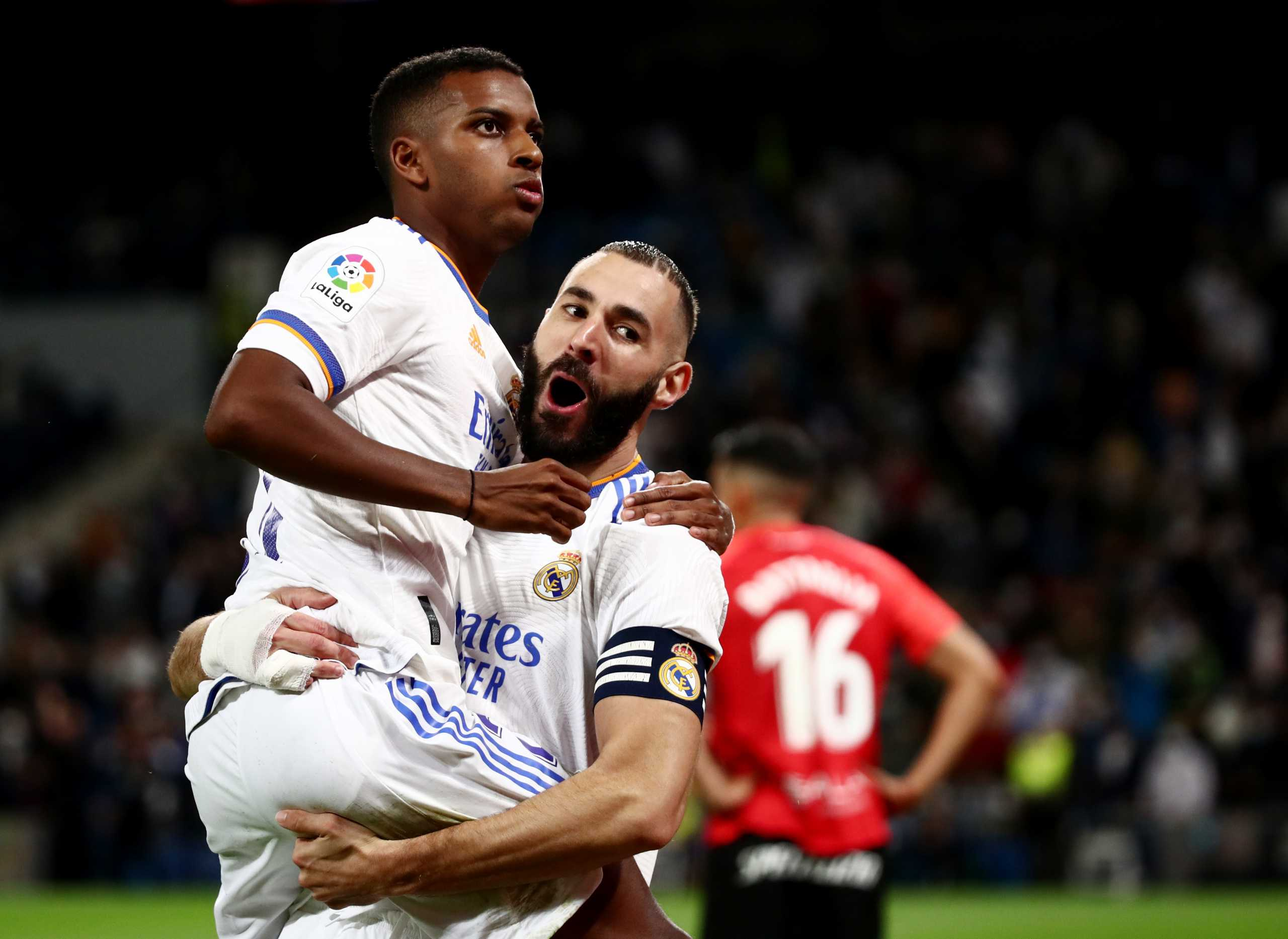 Ρεάλ Μαδρίτης – Μαγιόρκα 6-1: Με «εξάρα» στην κορυφή