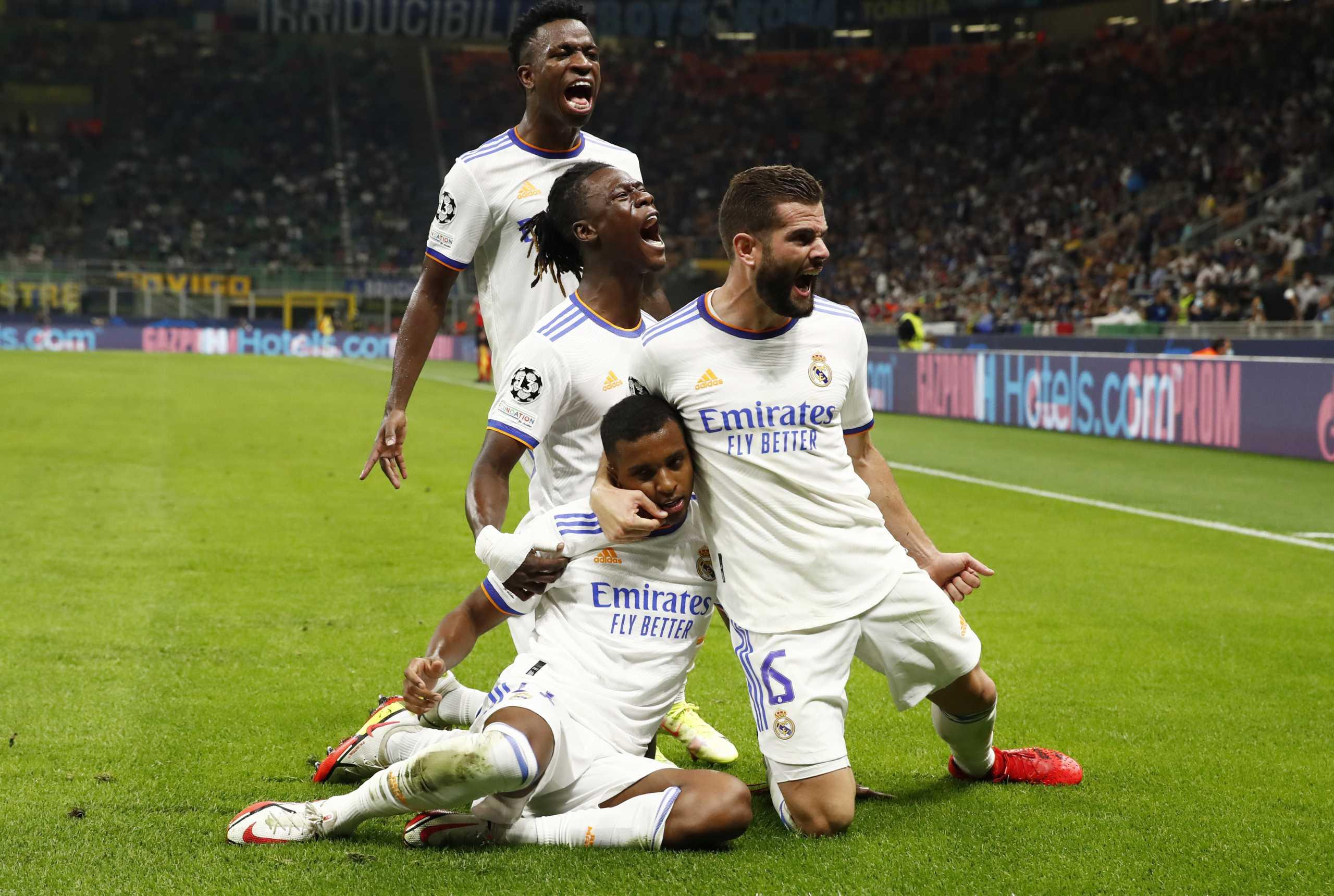 Champions League, Ίντερ – Ρεάλ 0-1: Στην κορυφή του τέταρτου ομίλου παρέα με την «ελληνική» Σέριφ οι Μαδριλένοι