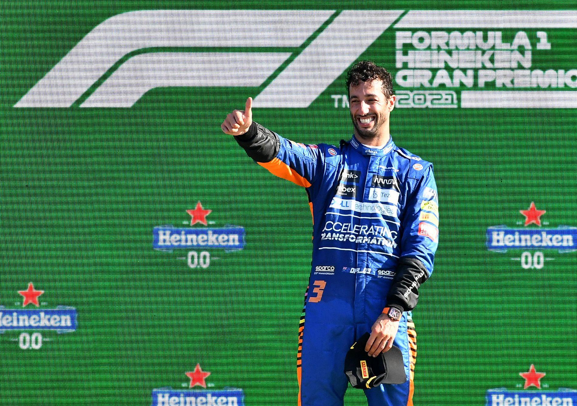 Formula 1: Απίθανη πρωτιά Ρικιάρντο στη Μόντσα