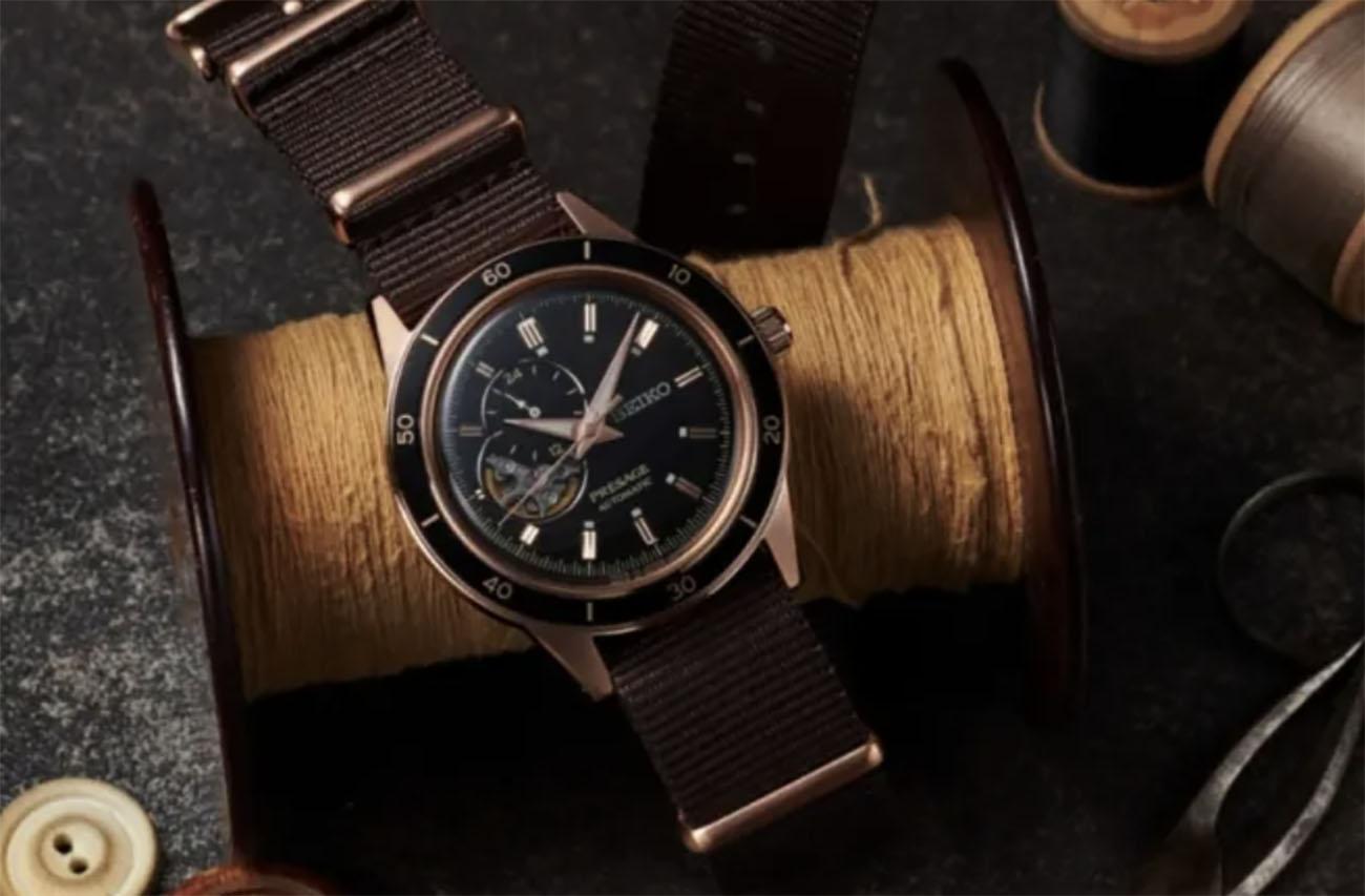 7 πανέμορφα ρολόγια από την Seiko με έμπνευση την δεκαετία του 60′