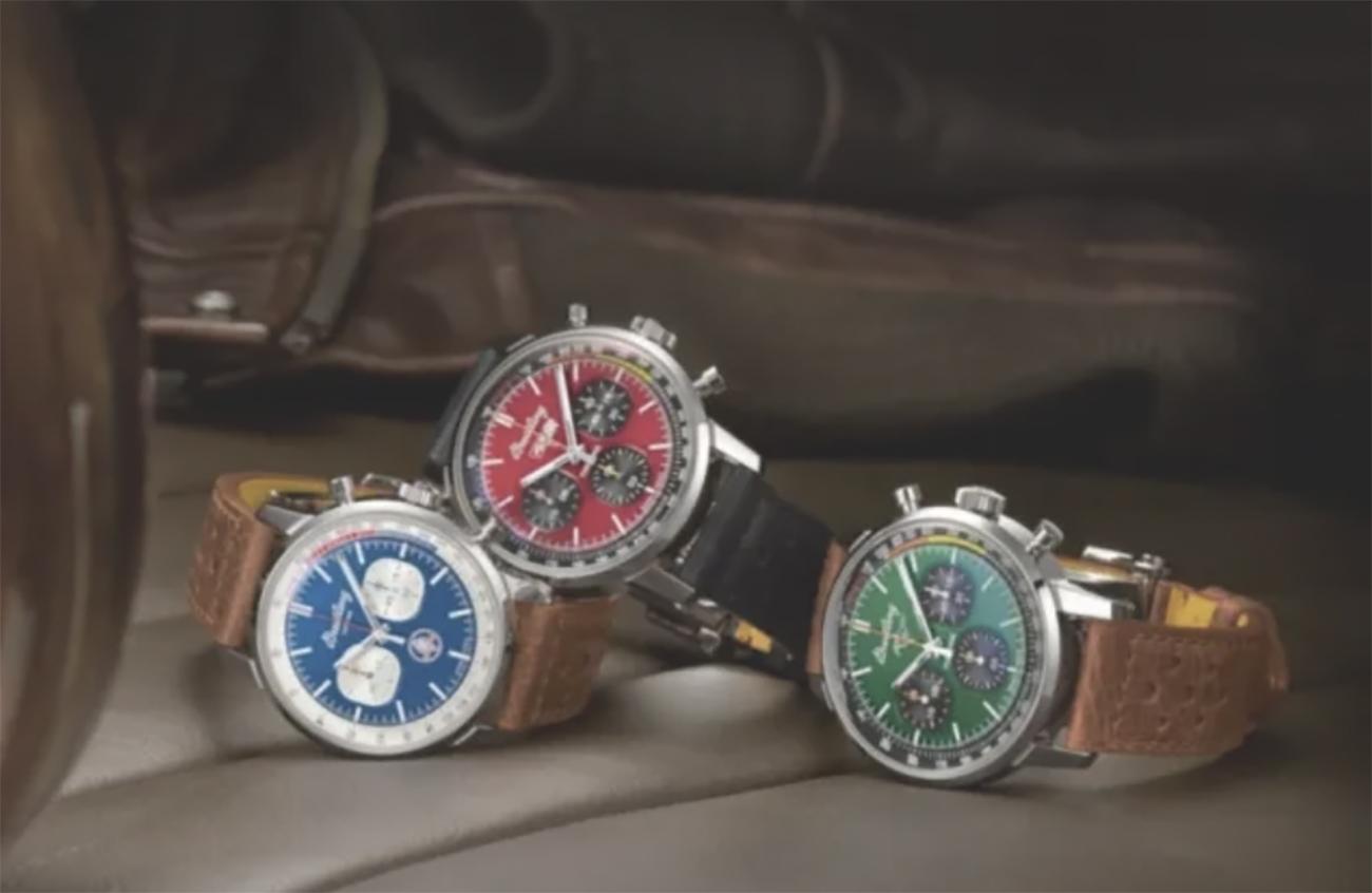 Τρία πανέμορφα ρολόγια για όσους λατρεύουν το στυλ και την ταχύτητα
