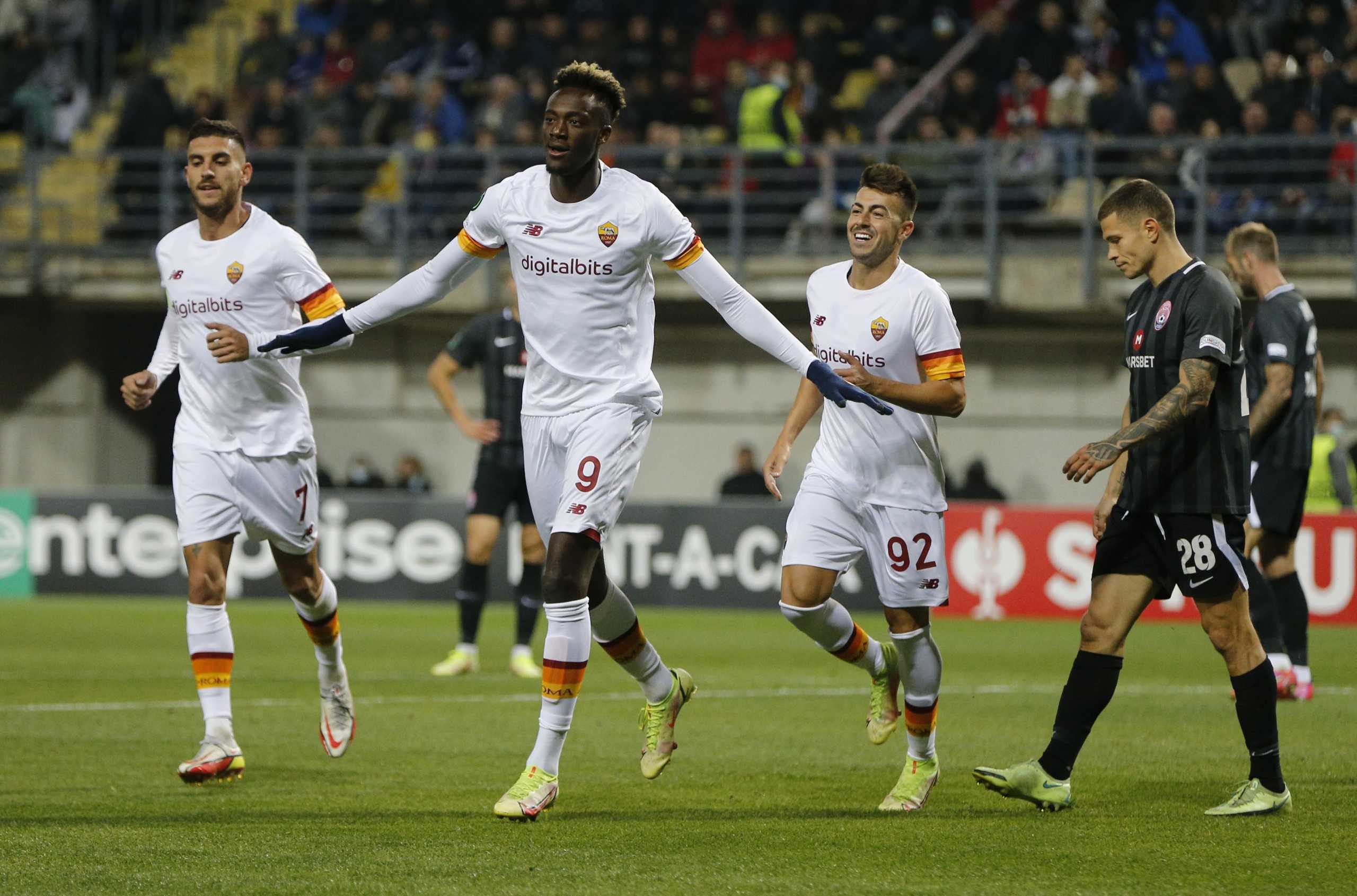 Conference League: Τριάρα η Ρόμα, νέα ήττα για την Ανόρθωση – Τα αποτελέσματα