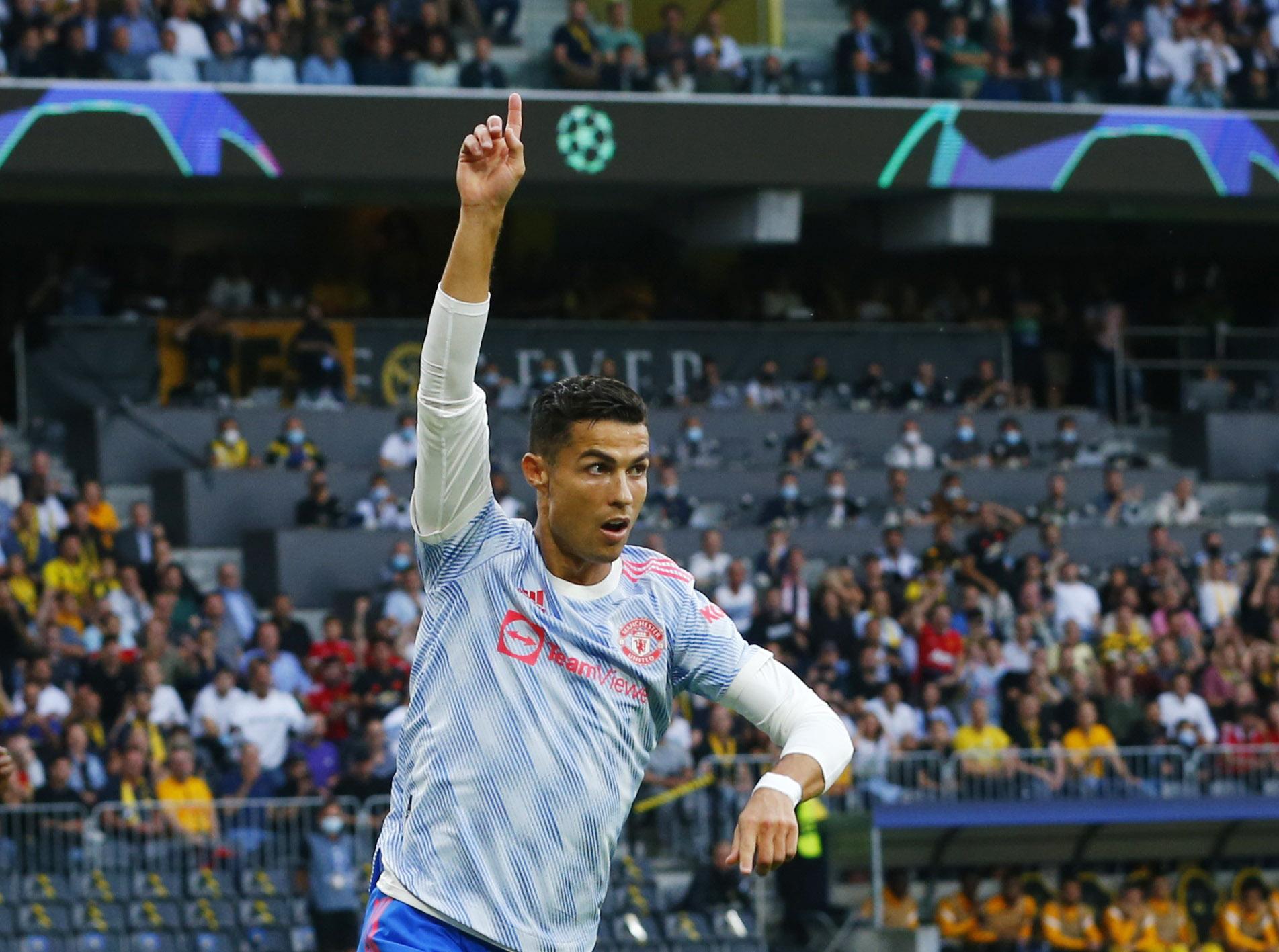 Γιουνγκ Μπόις – Μάντσεστερ Γιουνάιτεντ: Ο απίθανος Κριστιάνο Ρονάλντο σκόραρε και στο Champions League