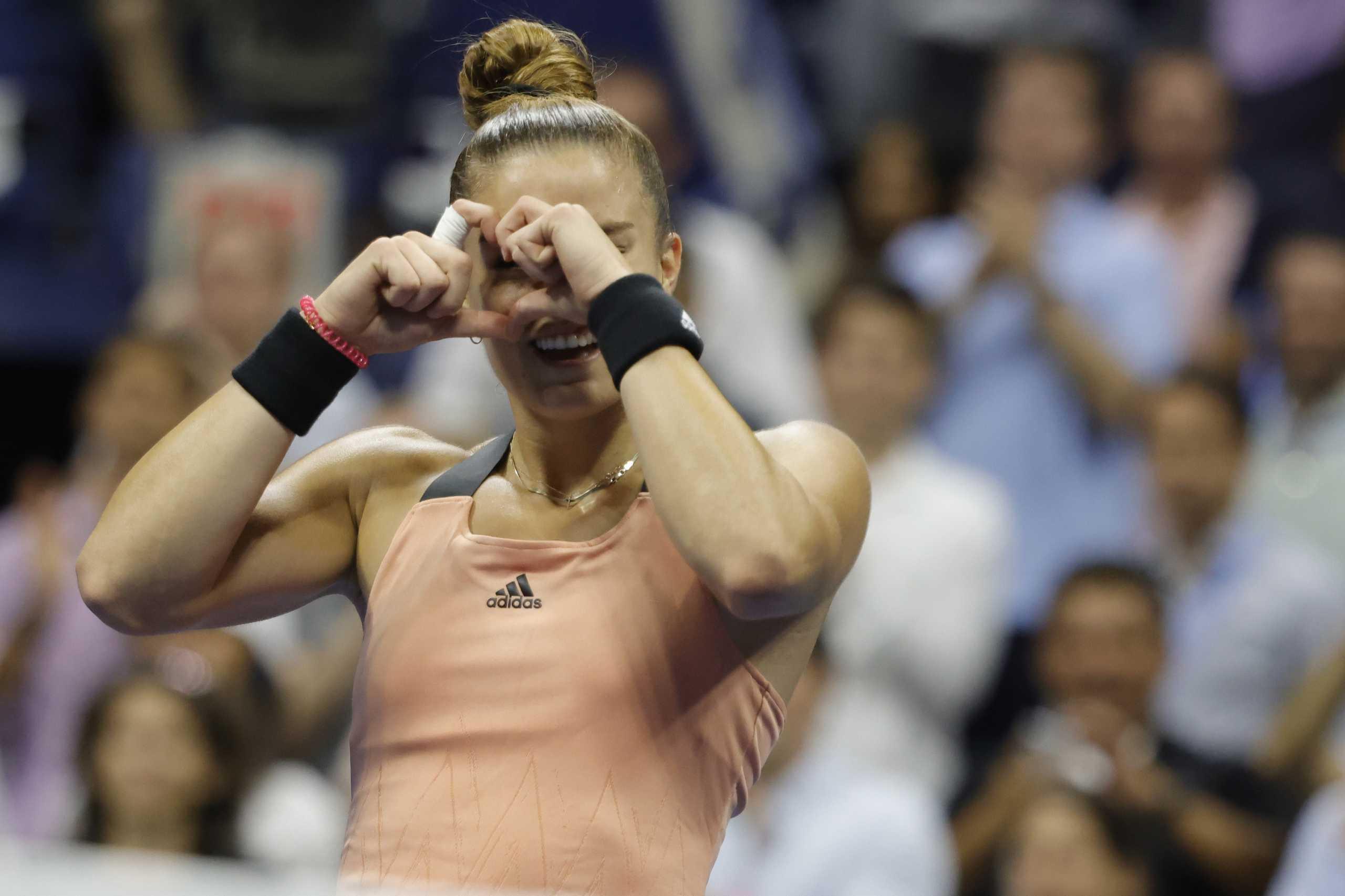 Μαρία Σάκκαρη: Το ποσό που πήρε για την πορεία της στο US Open