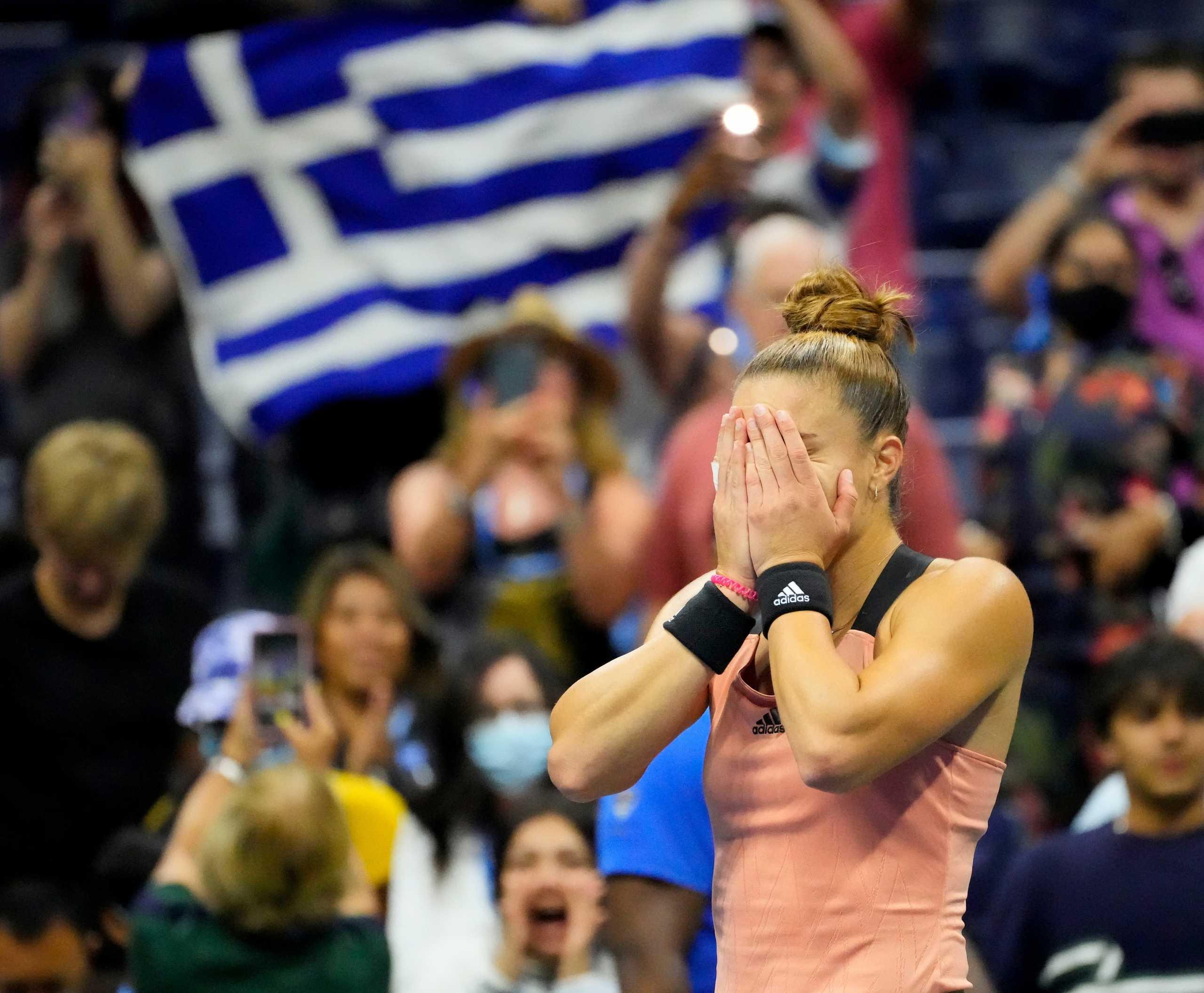 Η Μαρία Σάκκαρη αφιέρωσε στην Ελλάδα την πρόκριση της στα ημιτελικά του US Open