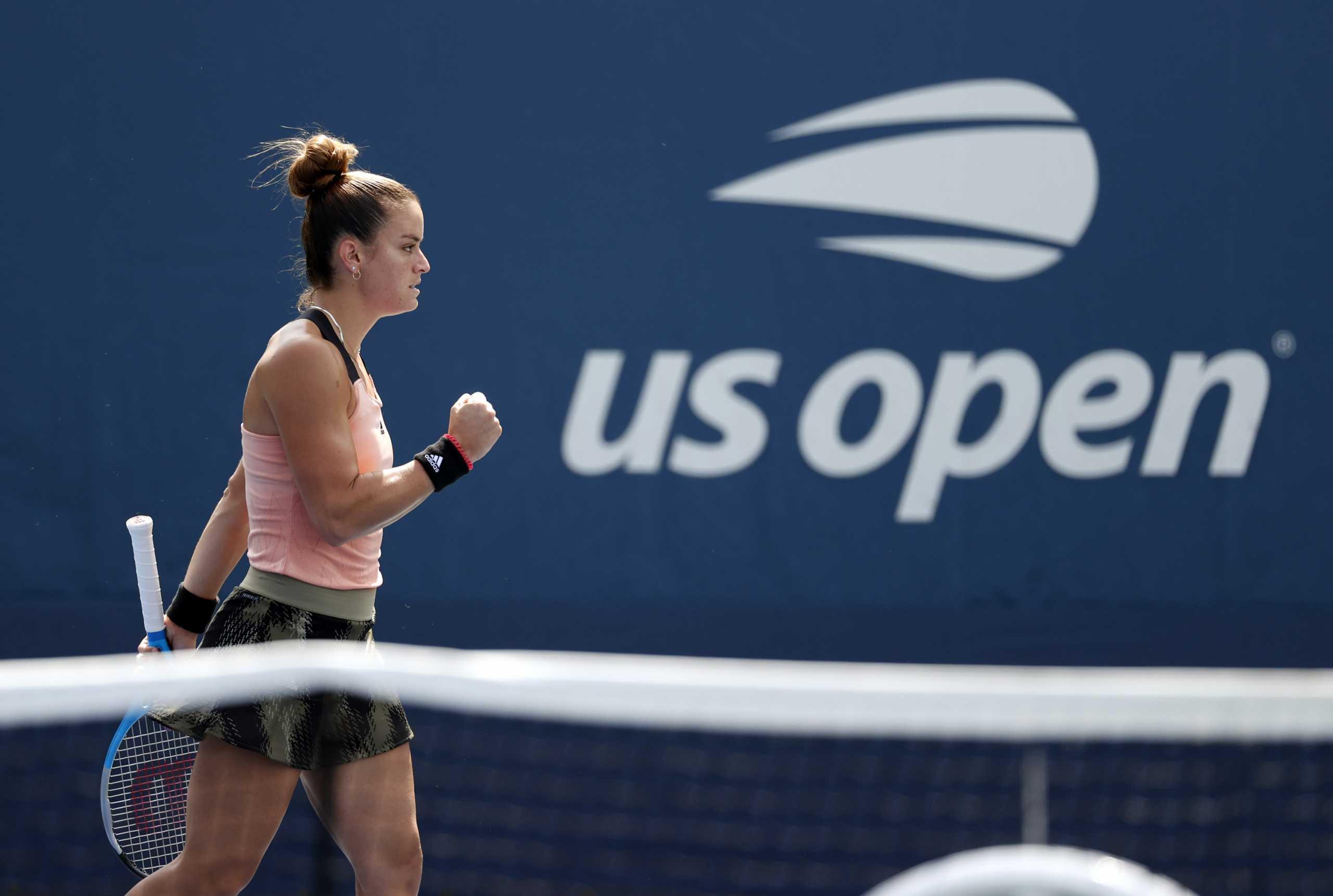 Μαρία Σάκκαρη: Κόντρα στην Κβίτοβα στους «32» του US Open