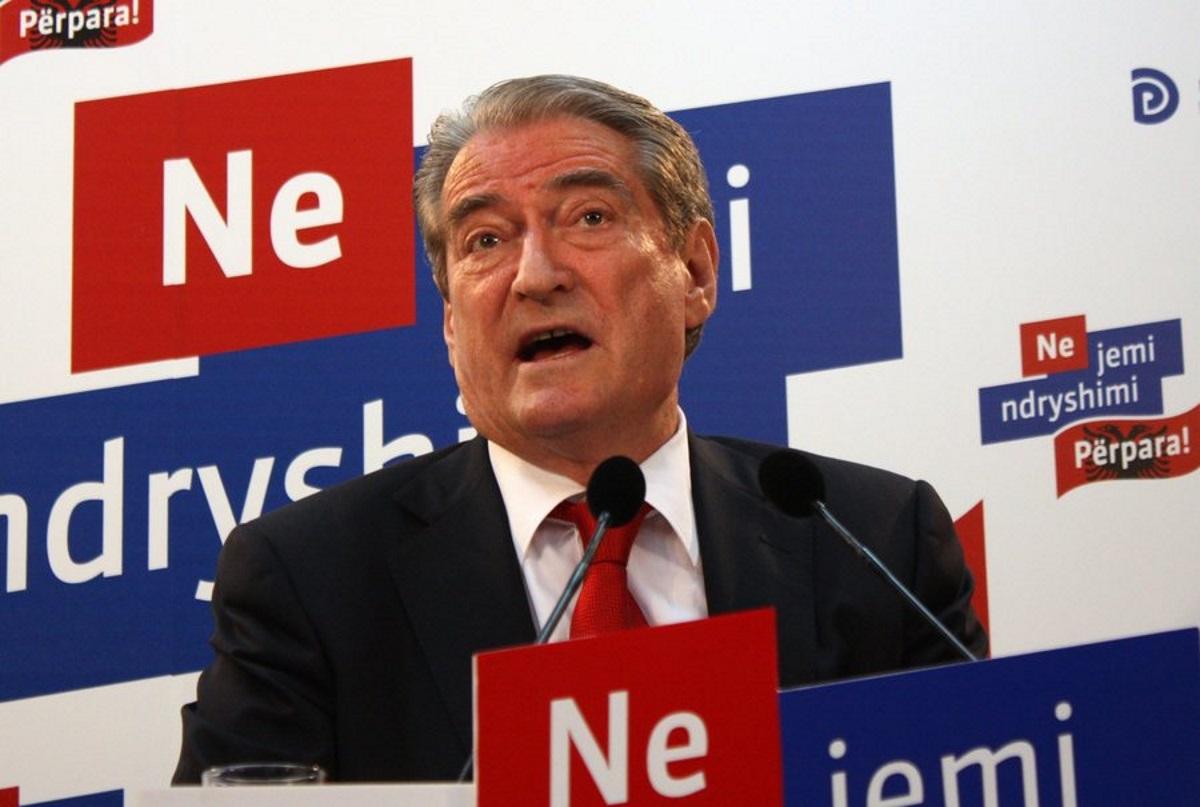 Αλβανία: Διαγραφή του Σαλί Μπερίσα από την κοινοβουλευτική ομάδα των Δημοκρατικών