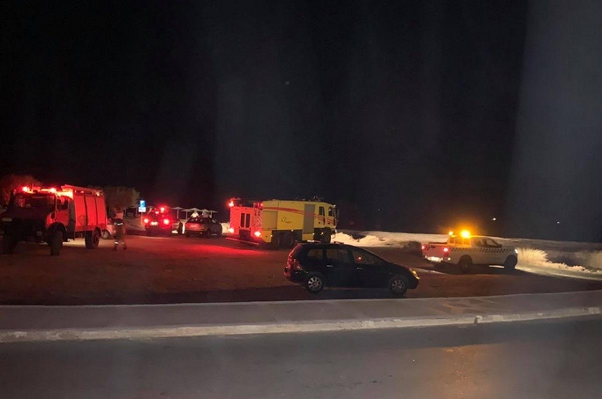 Σάμος: Δυο νεκροί από την πτώση του αεροσκάφους Τσέσνα