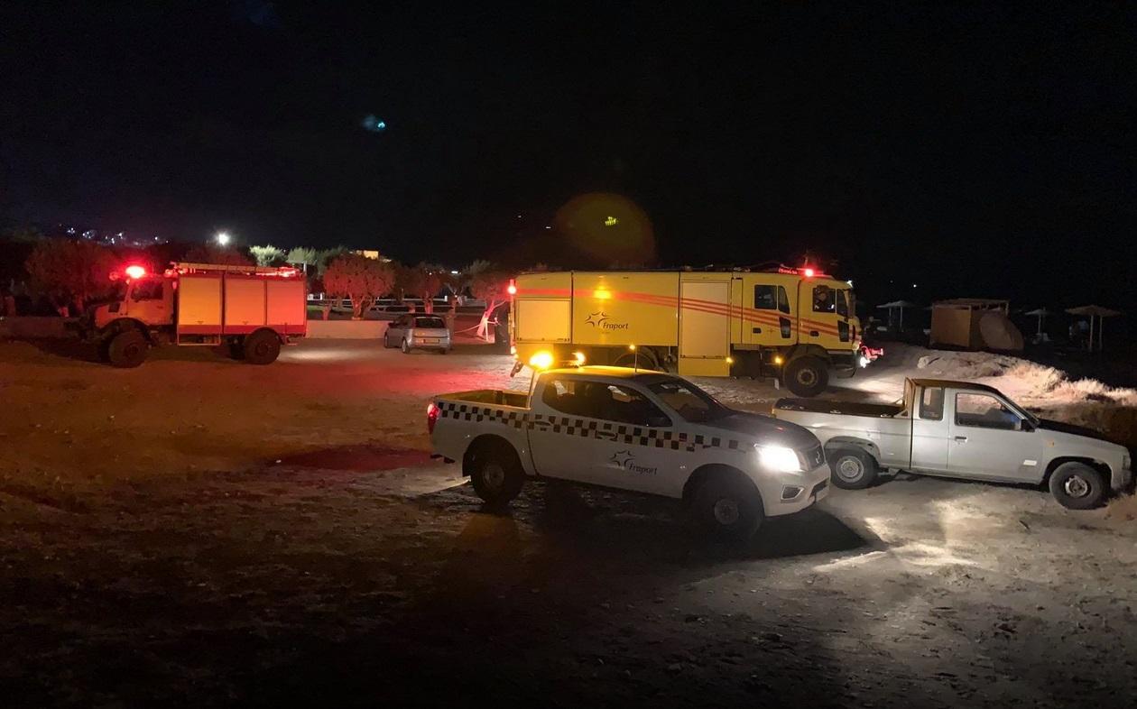 Πληροφορίες για πτώση του αεροσκάφους στη Σάμο