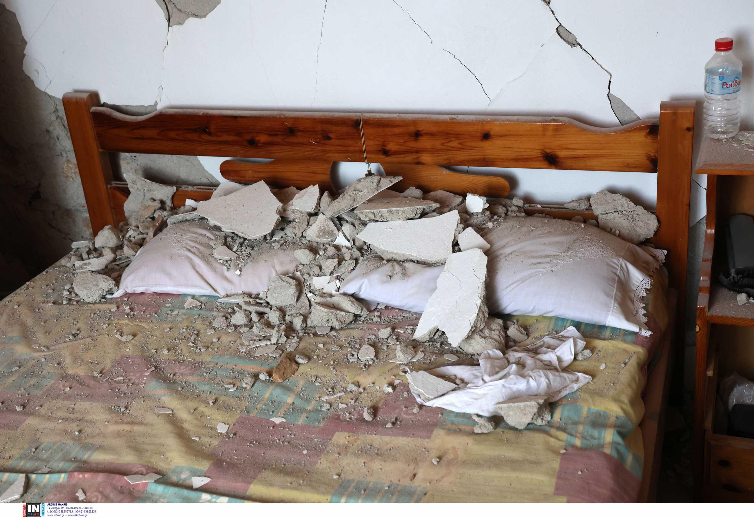 Σεισμός στην Κρήτη:  Αποκαταστάθηκε η ζημιά στον τροφοδοτικό αγωγό ύδρευσης Θραψανού