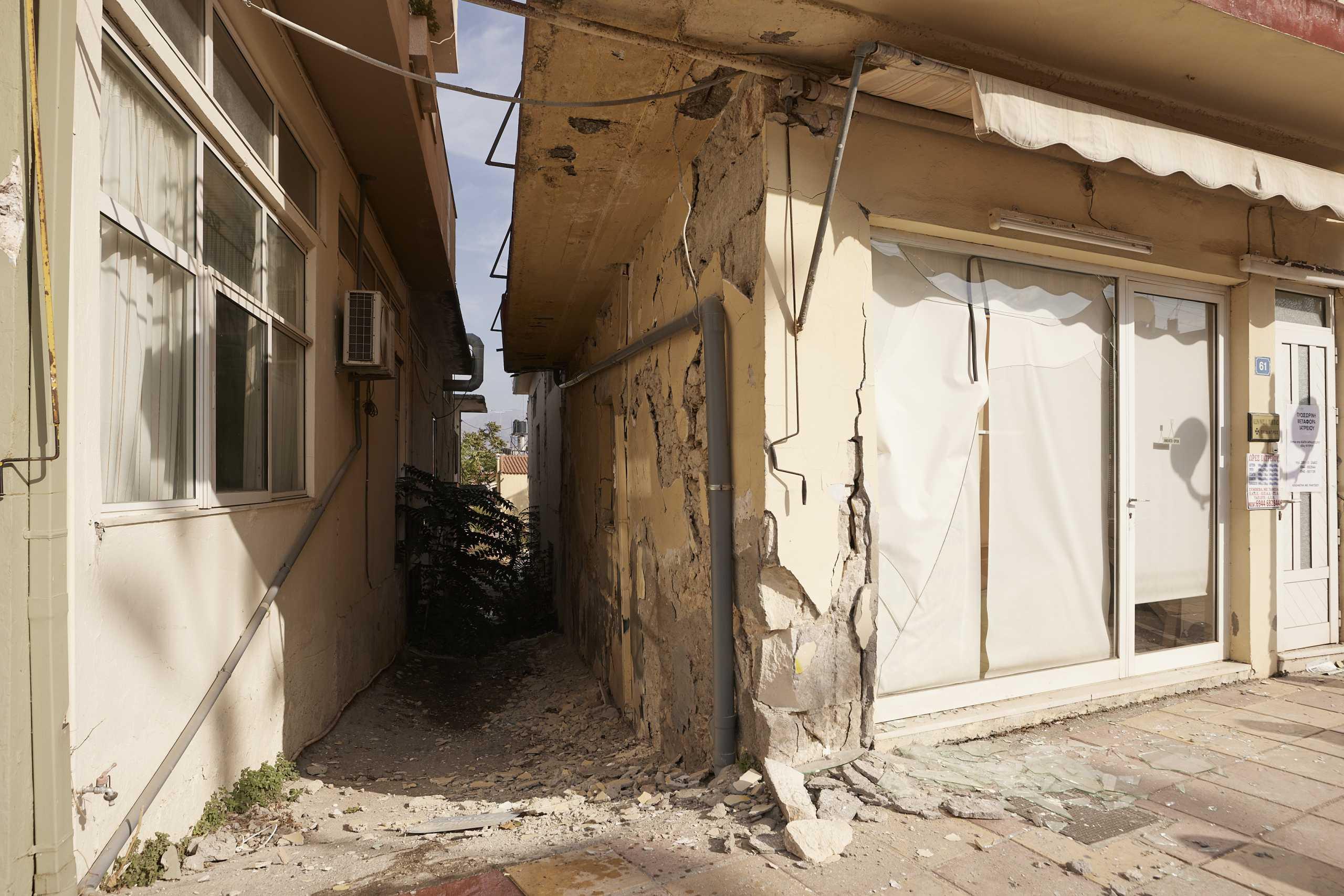 Σεισμός στην Κρήτη: Πάνω από 800 κτίρια ακατάλληλα – Συνεχίζονται οι έλεγχοι