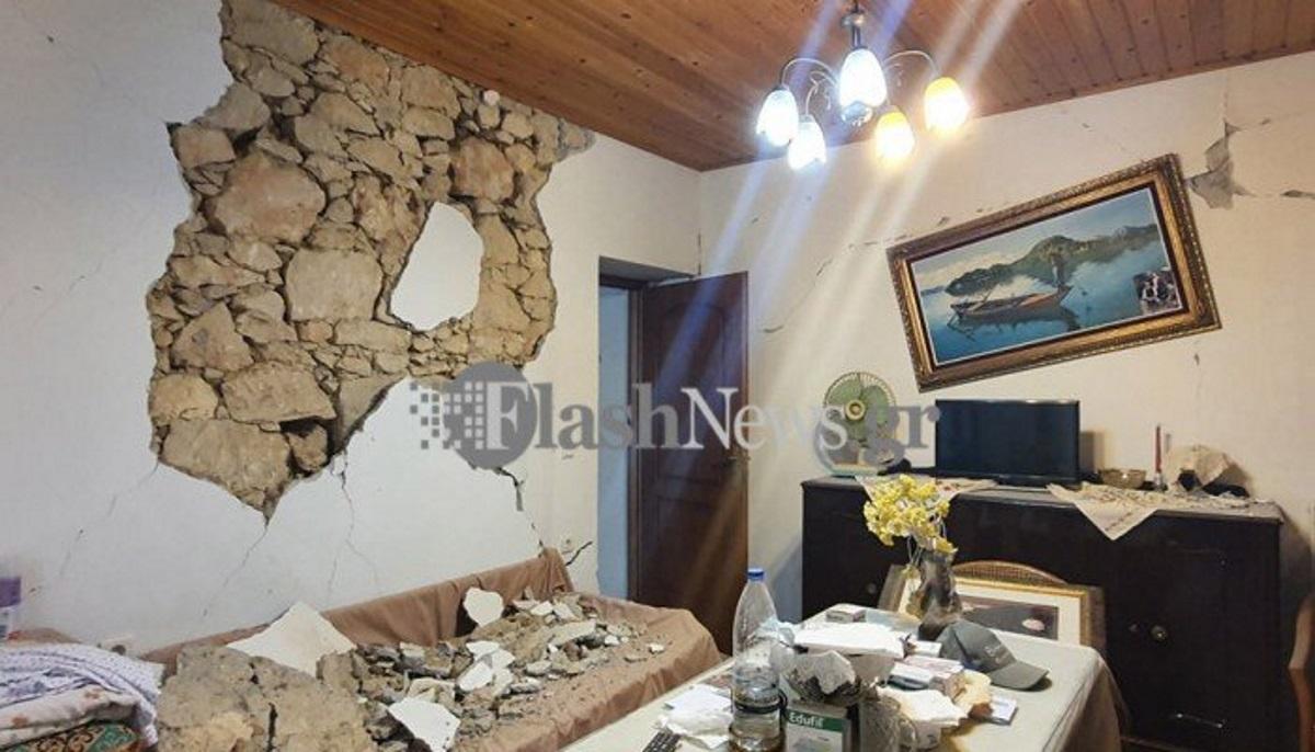 Σεισμός στην Κρήτη: Σε ποιες περιοχές οι κάτοικοι να μην μπουν στα σπίτια – Εικόνες χάους