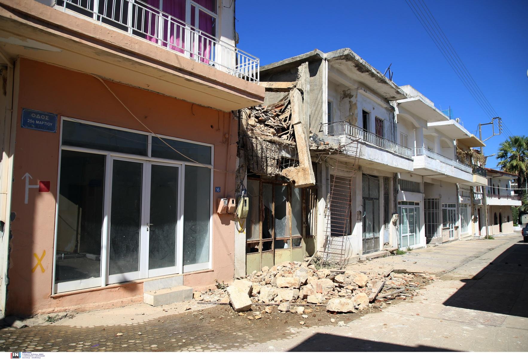 Σεισμός στην Κρήτη: 2.500 σκηνές για τους σεισμόπληκτους – Σε κατάσταση έκτακτης ανάγκης ο δήμος Μινώα Πεδιάδας
