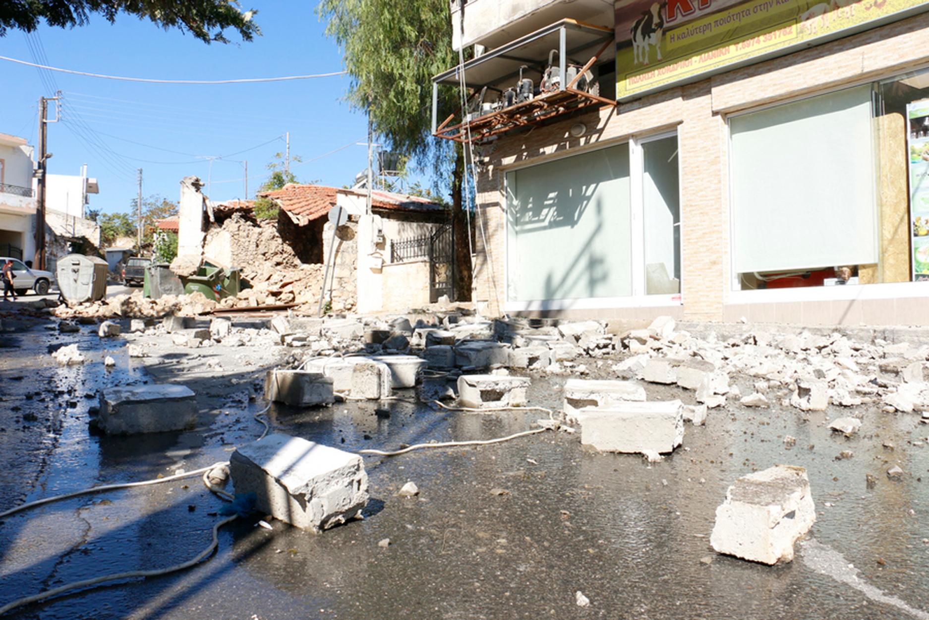 Σεισμός στην Κρήτη: Απανωτοί μετασεισμοί και νέα δόνηση 4,5 Ρίχτερ στο Ηράκλειο